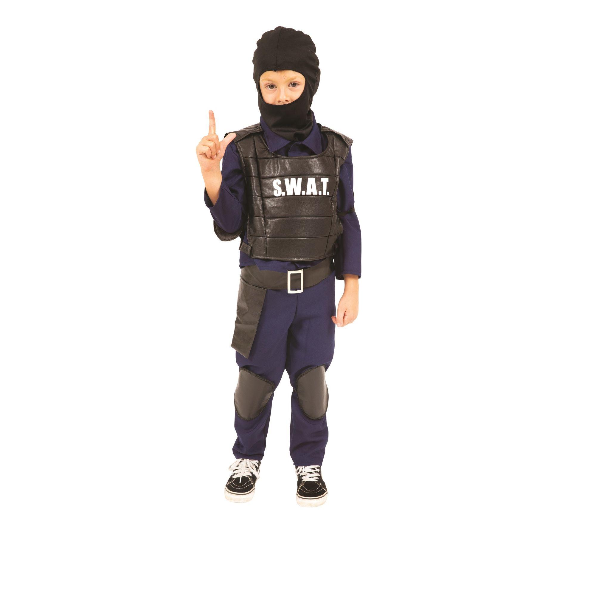 COSTUME DA SWAT - AGENTE SPECIALE FANCY WORLD