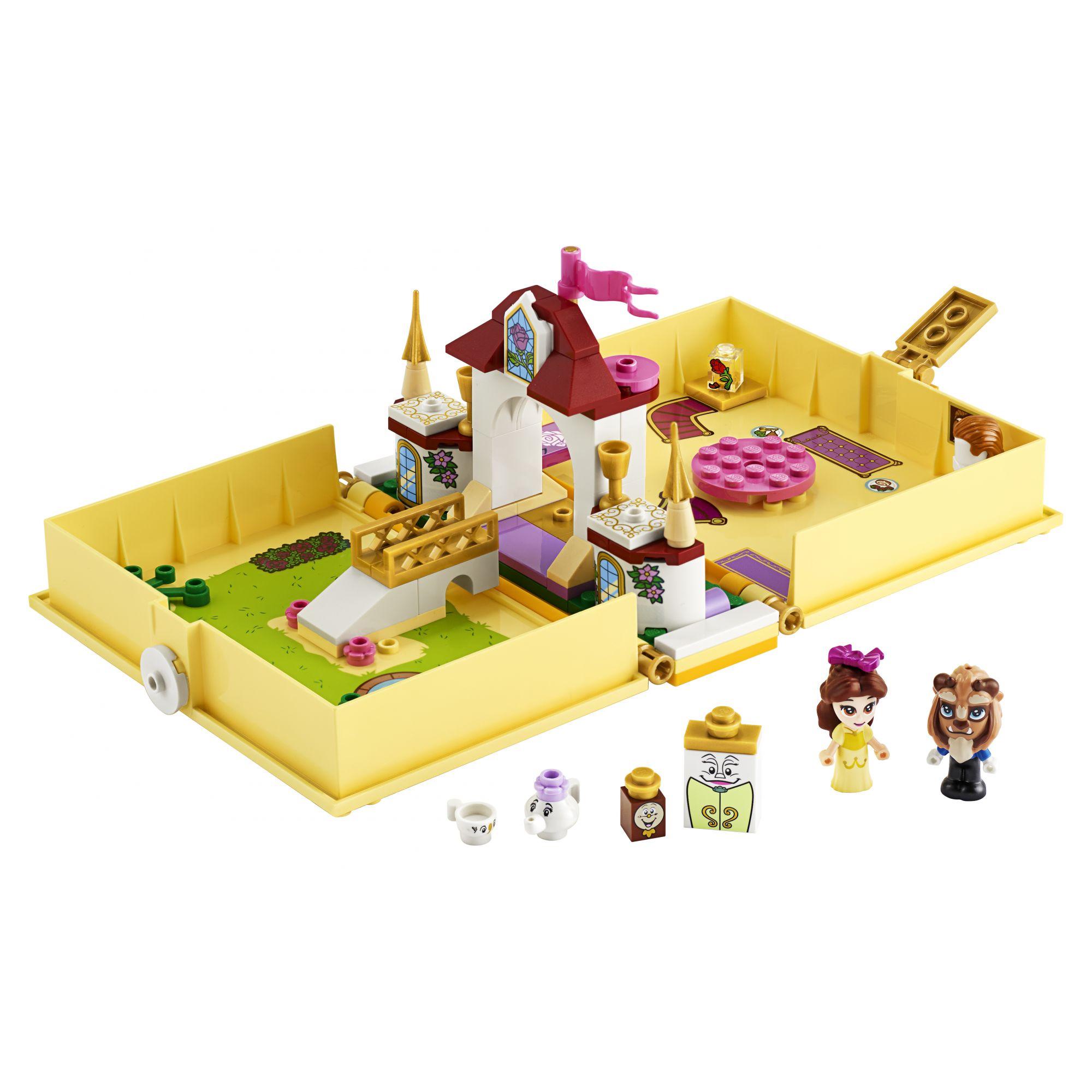 LEGO Disney Princess Il libro delle fiabe di Belle - 43177