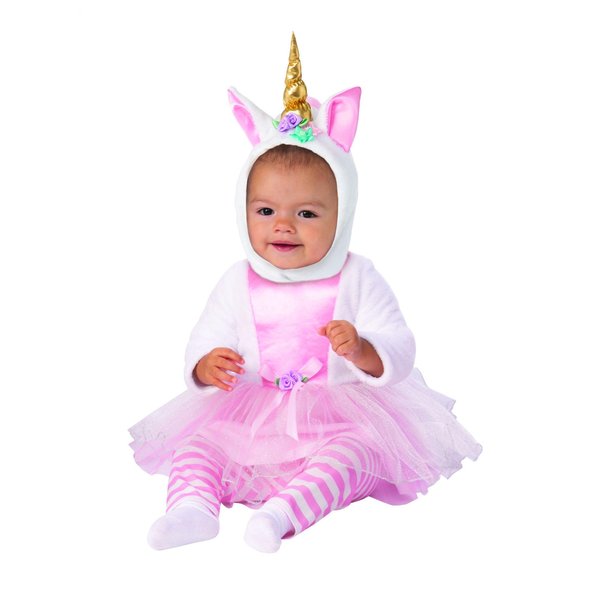 Costume unicorno bambina 1-2 anni