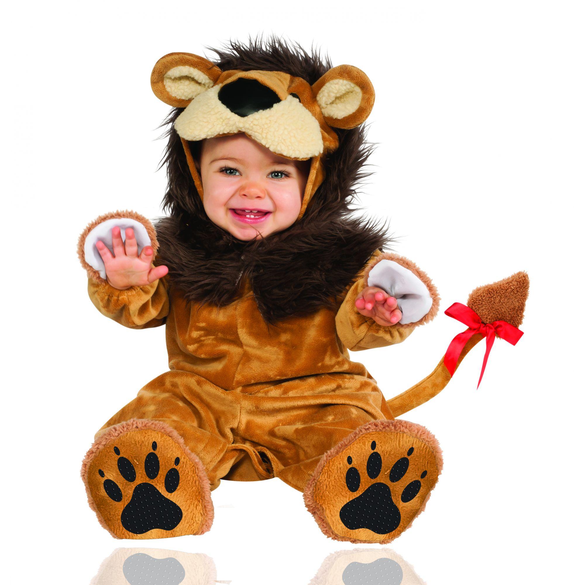 Costume leone bambino 12/18 mesi