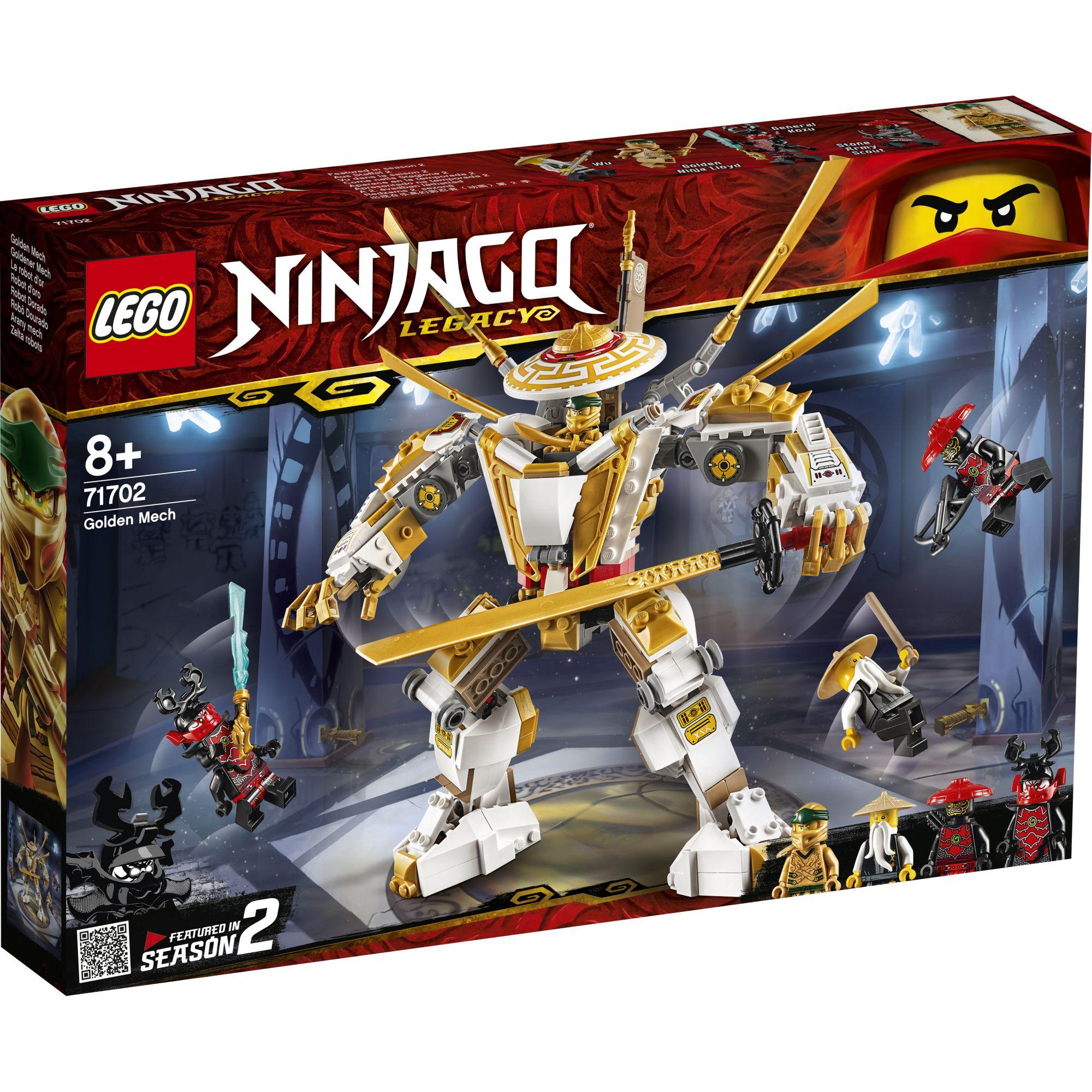 LEGO NINJAGO Mech Dorato - 71702 LEGO NINJAGO