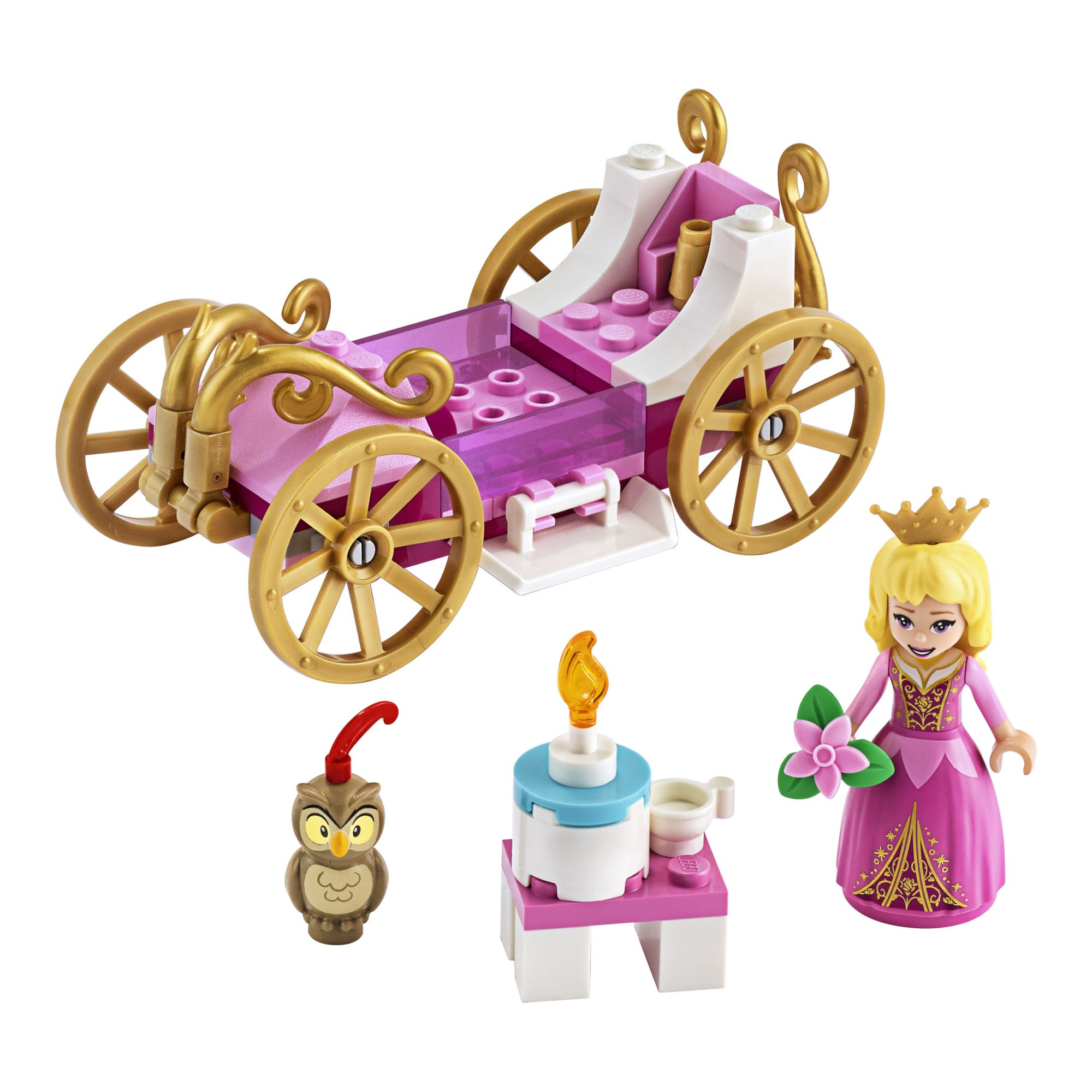 LEGO Disney Princess La carrozza reale di Aurora - 43173