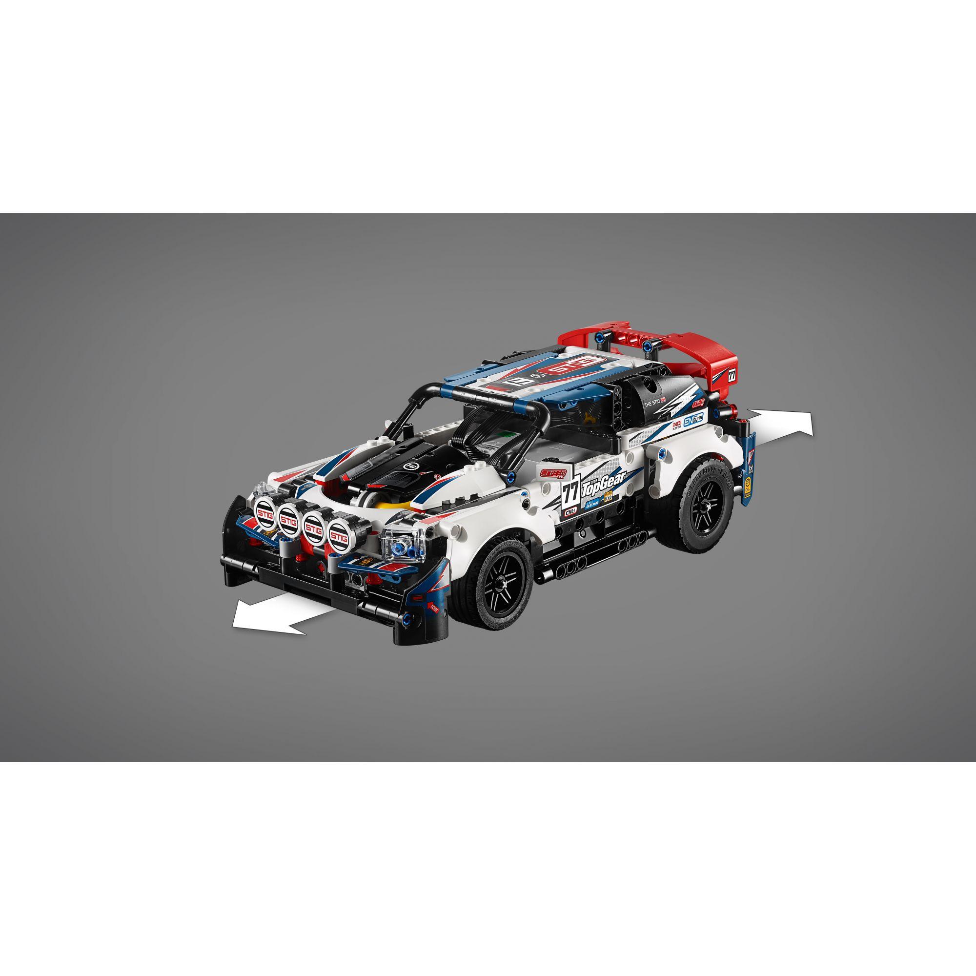 LEGO TECHNIC - Auto da Rally Top Gear telecomandata - 42109    LEGO TECHNIC