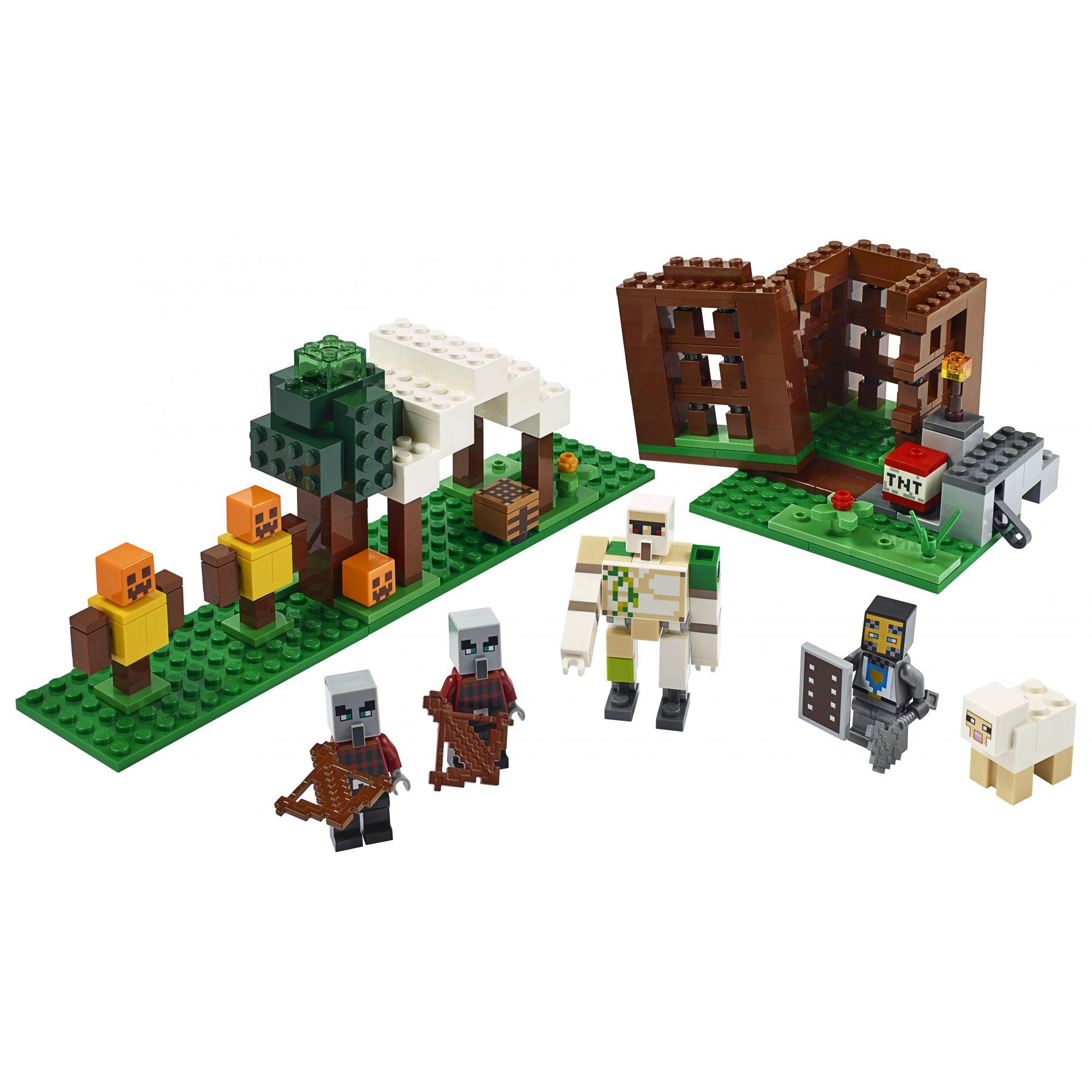 LEGO Minecraft L'avamposto del saccheggiatore - 21159