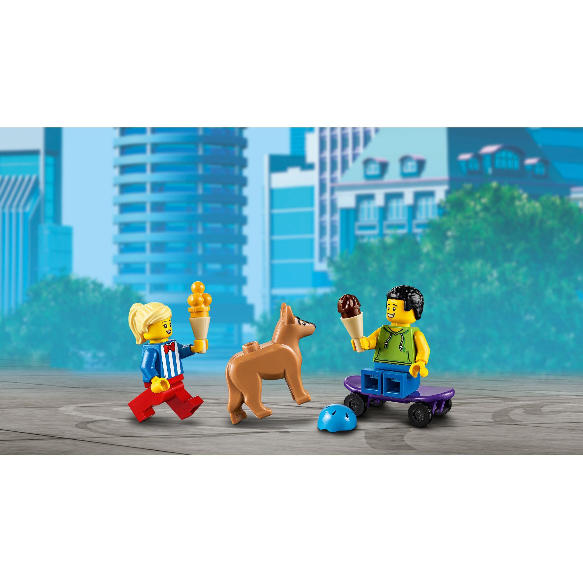LEGO CITY  LEGO City Furgone dei gelati - 60253