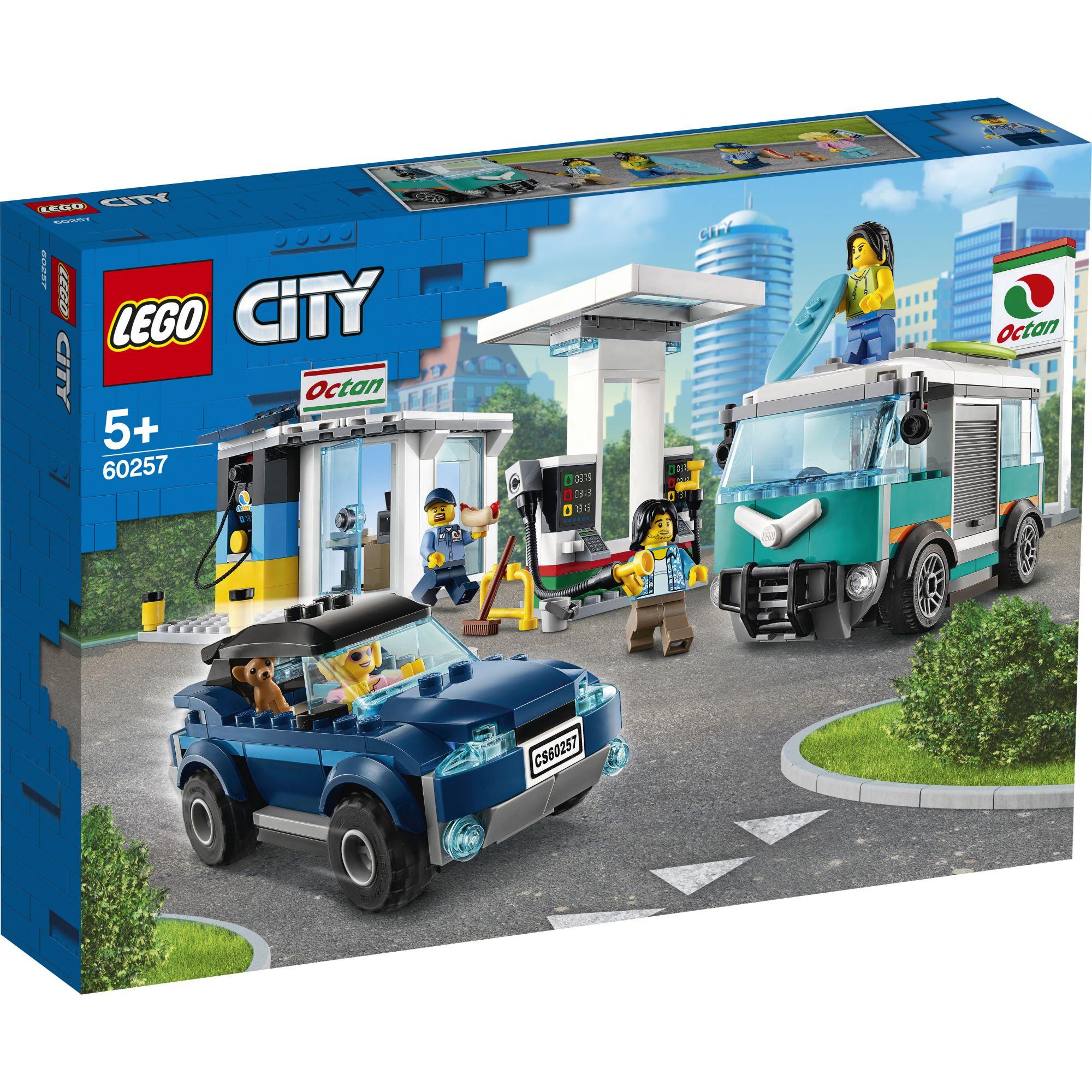 LEGO City Stazione di servizio - 60257 LEGO CITY
