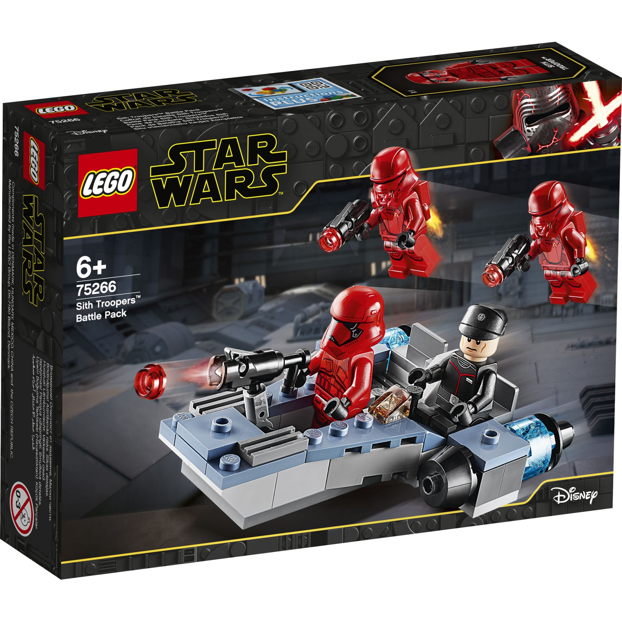 LEGO Star Wars Episode IX Battle Pack Sith Troopers - 75266