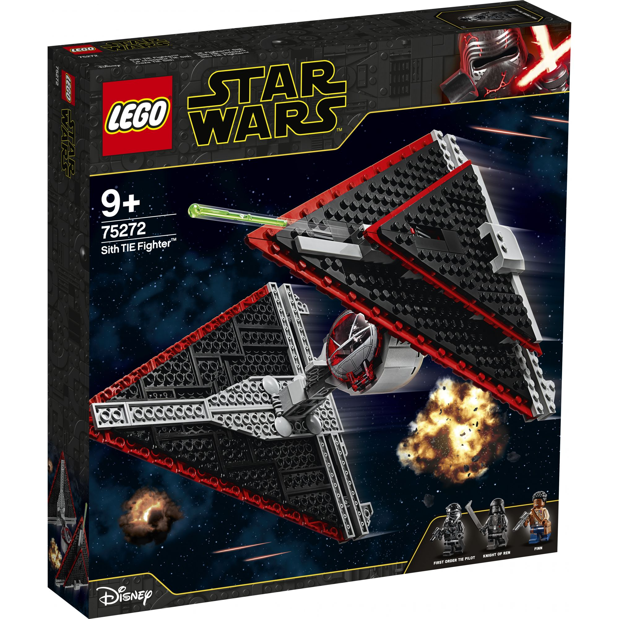 LEGO Star Wars Episode IX Sith TIE Fighter - 75272