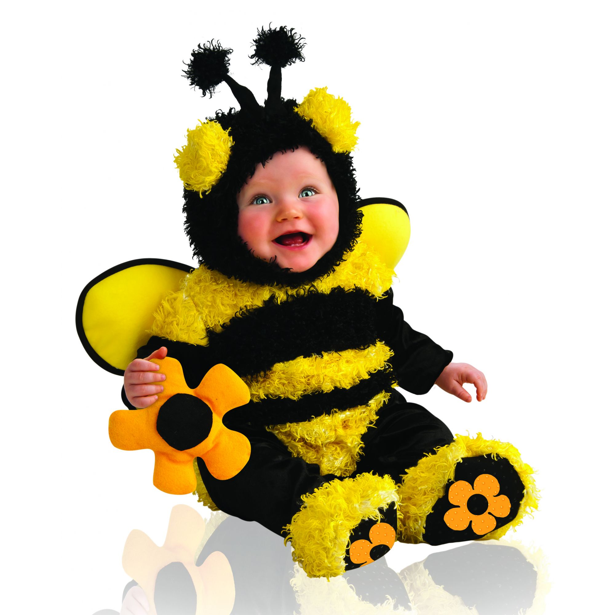 Costume ape bambina 6/12 mesi