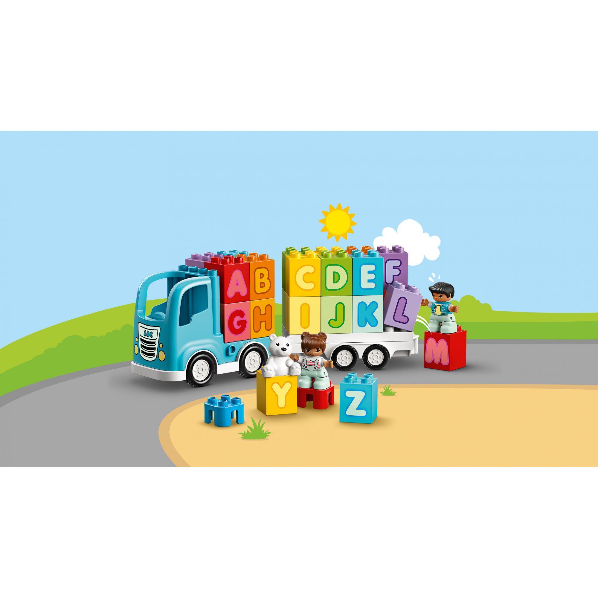 LEGO DUPLO  LEGO DUPLO Camion dell'alfabeto - 10915