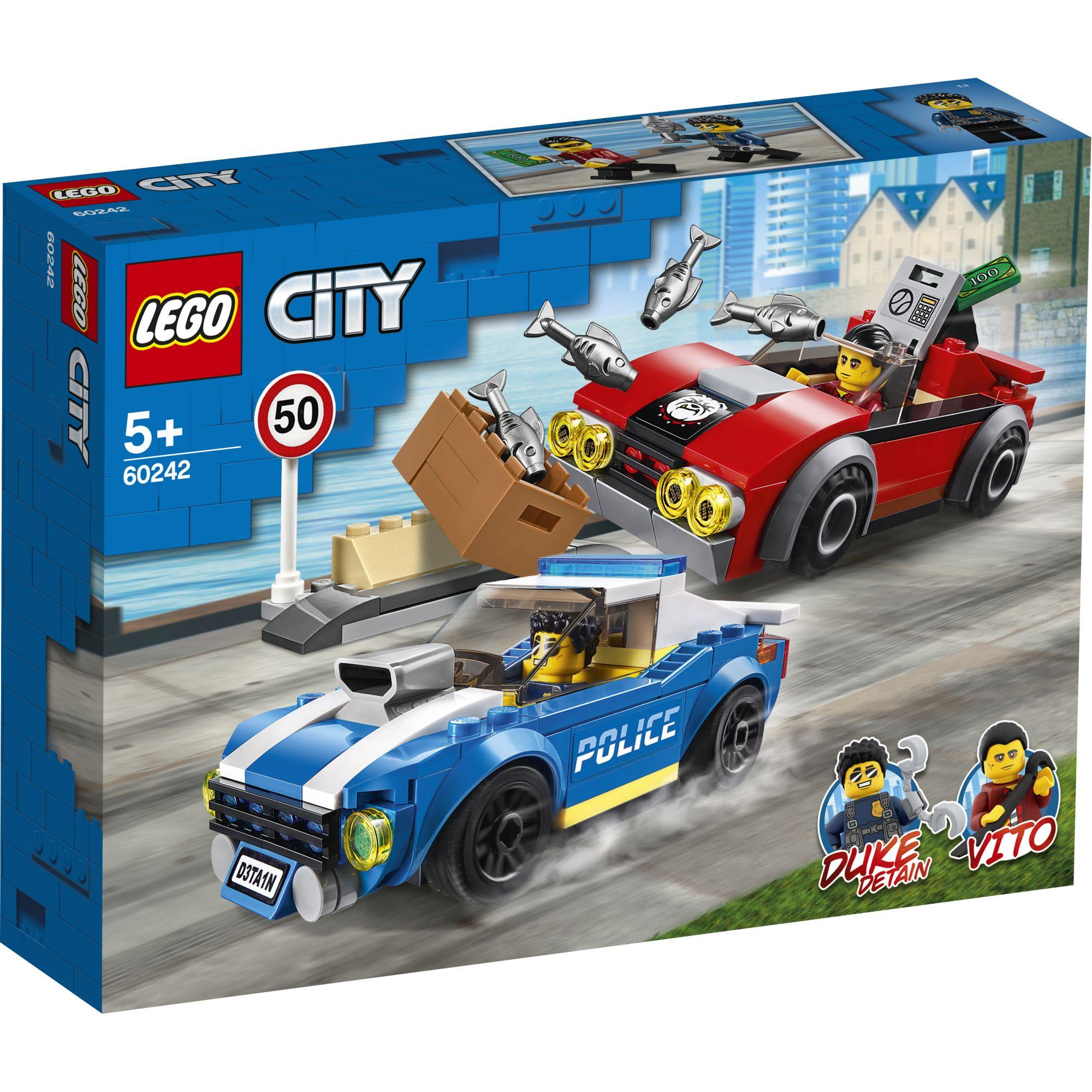 LEGO City Arresto su strada della polizia - 60242 LEGO CITY