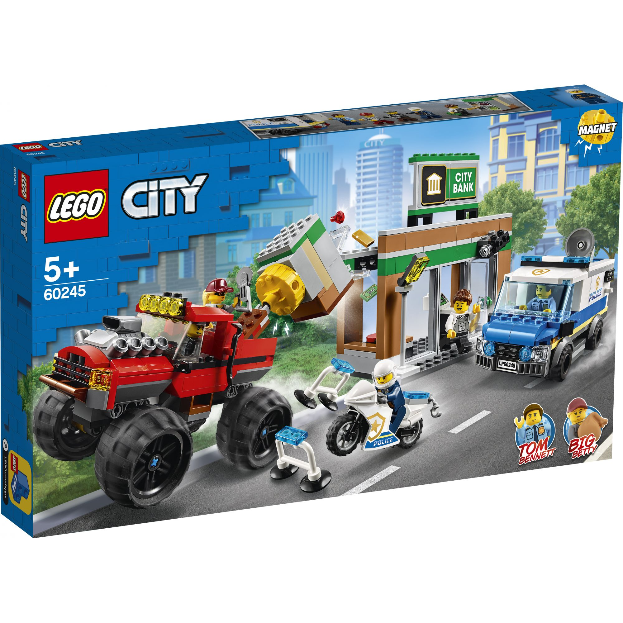 LEGO City Rapina sul Monster Truck - 60245 LEGO CITY