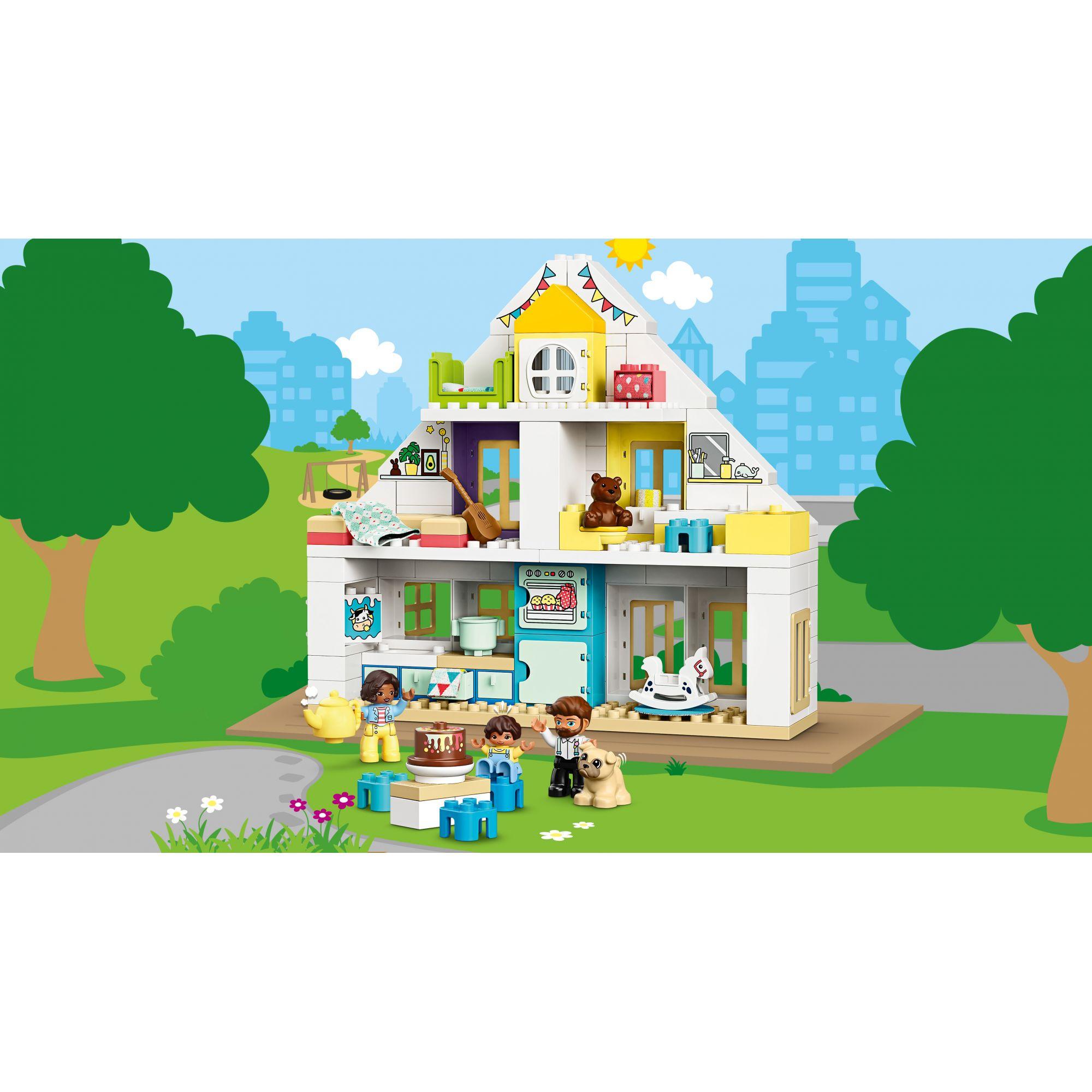LEGO DUPLO  LEGO DUPLO Casa da gioco modulare - 10929