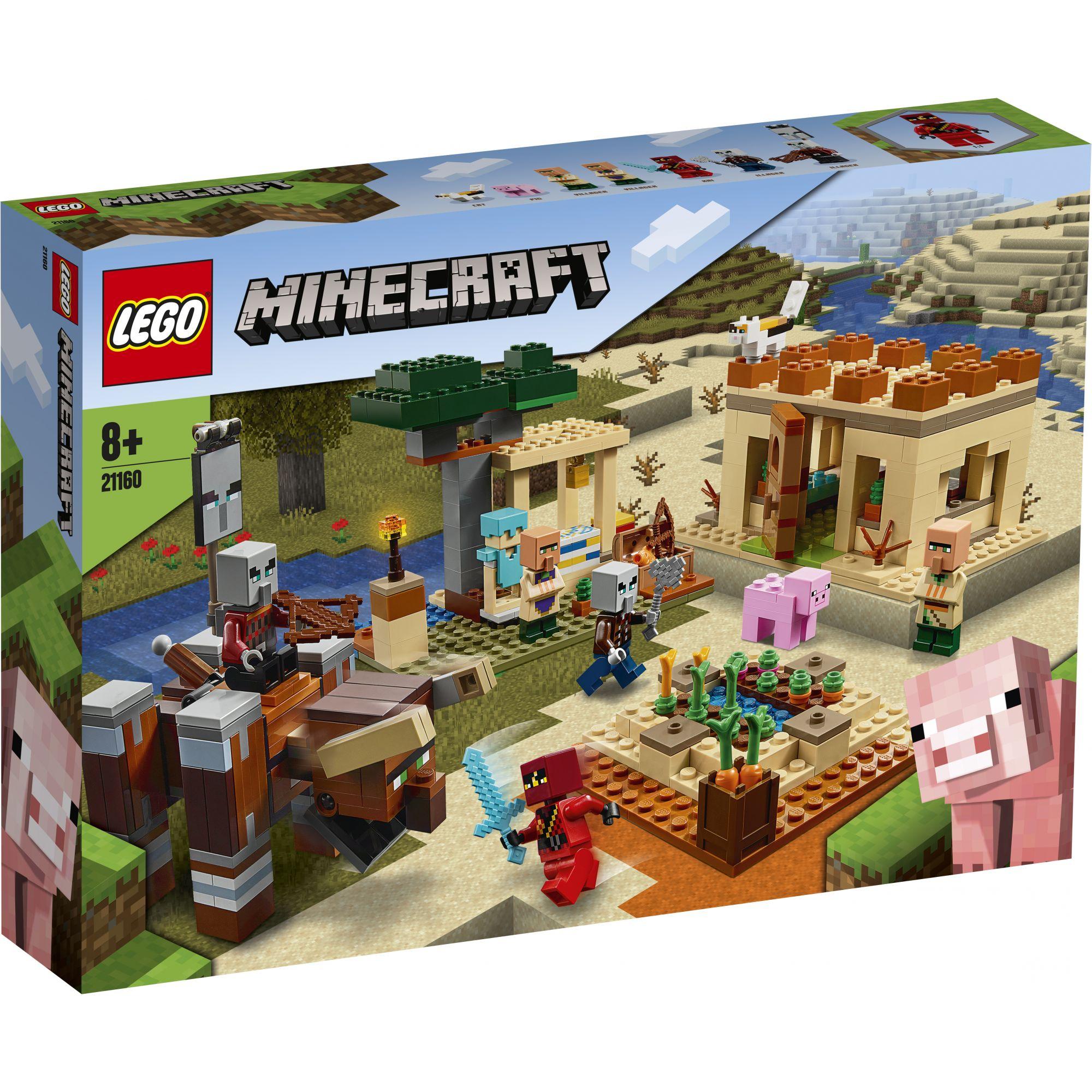 LEGO Minecraft L'incursione della Bestia - 21160