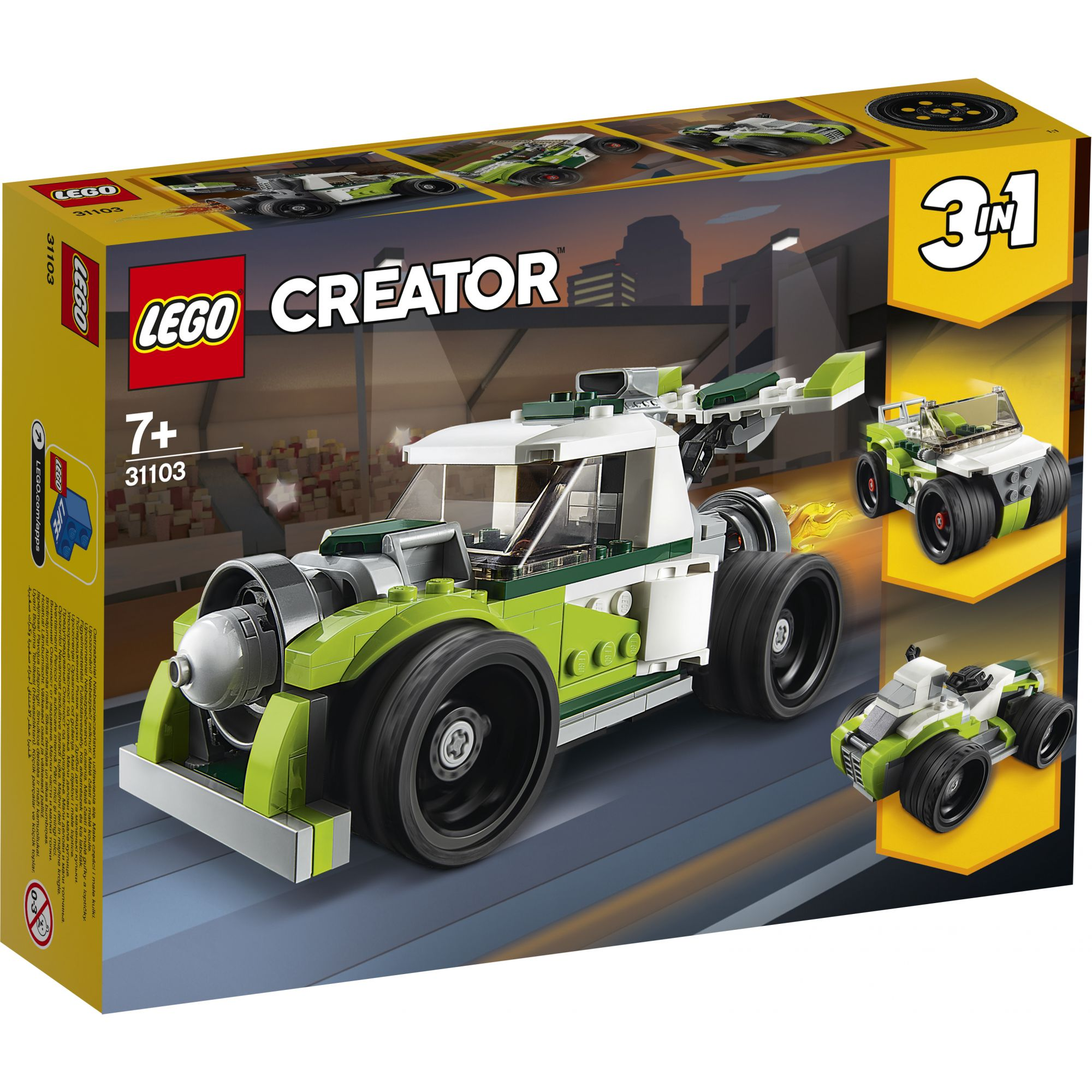 LEGO Creator Razzo-bolide - 31103 LEGO CREATOR