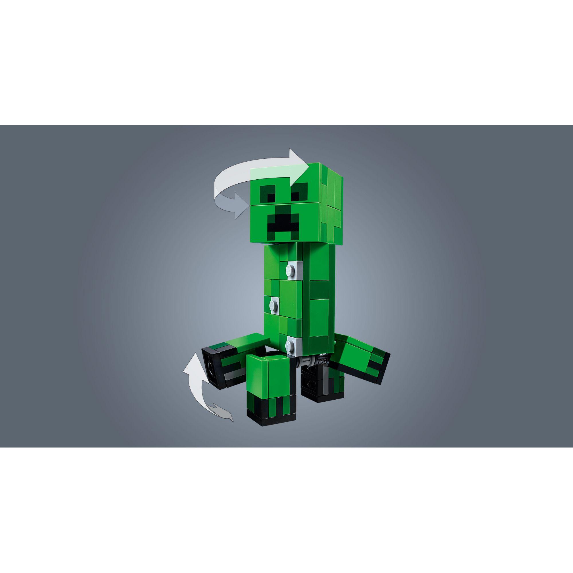LEGO Minecraft Maxi-figure Creeper e Gattopardo - 21156
