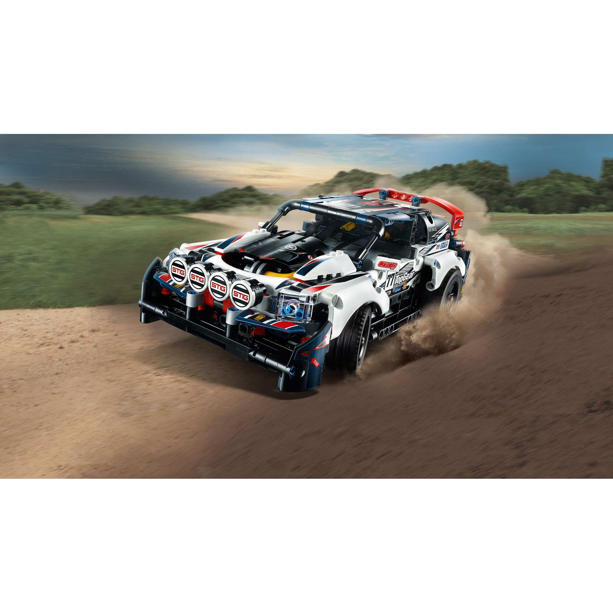 LEGO TECHNIC  LEGO TECHNIC - Auto da Rally Top Gear telecomandata - 42109