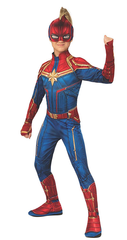 Costume Marvel Capitan Marvel bambina 3/4 anni