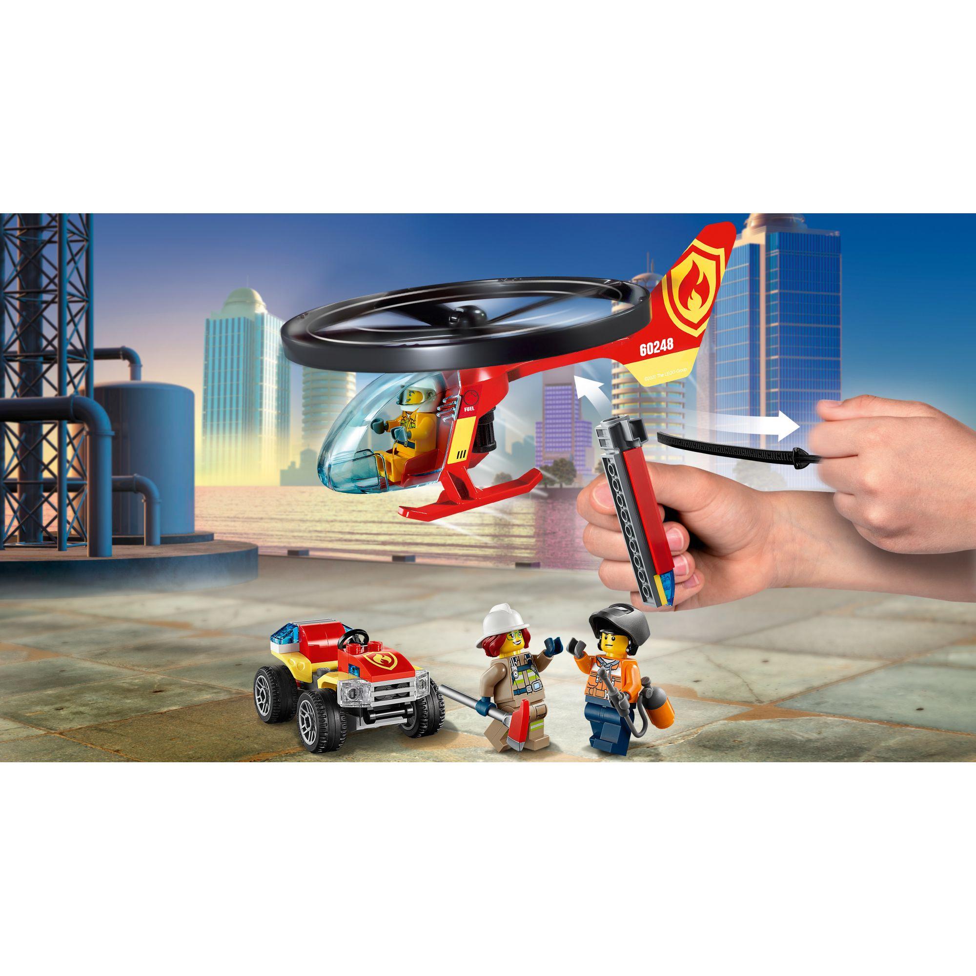 LEGO CITY   LEGO City Elicottero dei pompieri - 60248