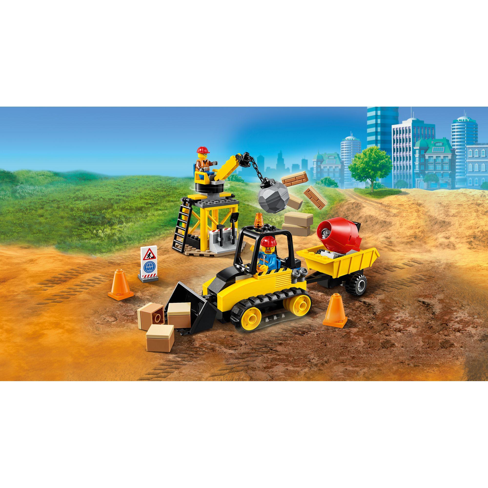 LEGO CITY  LEGO City Bulldozer da cantiere - 60252