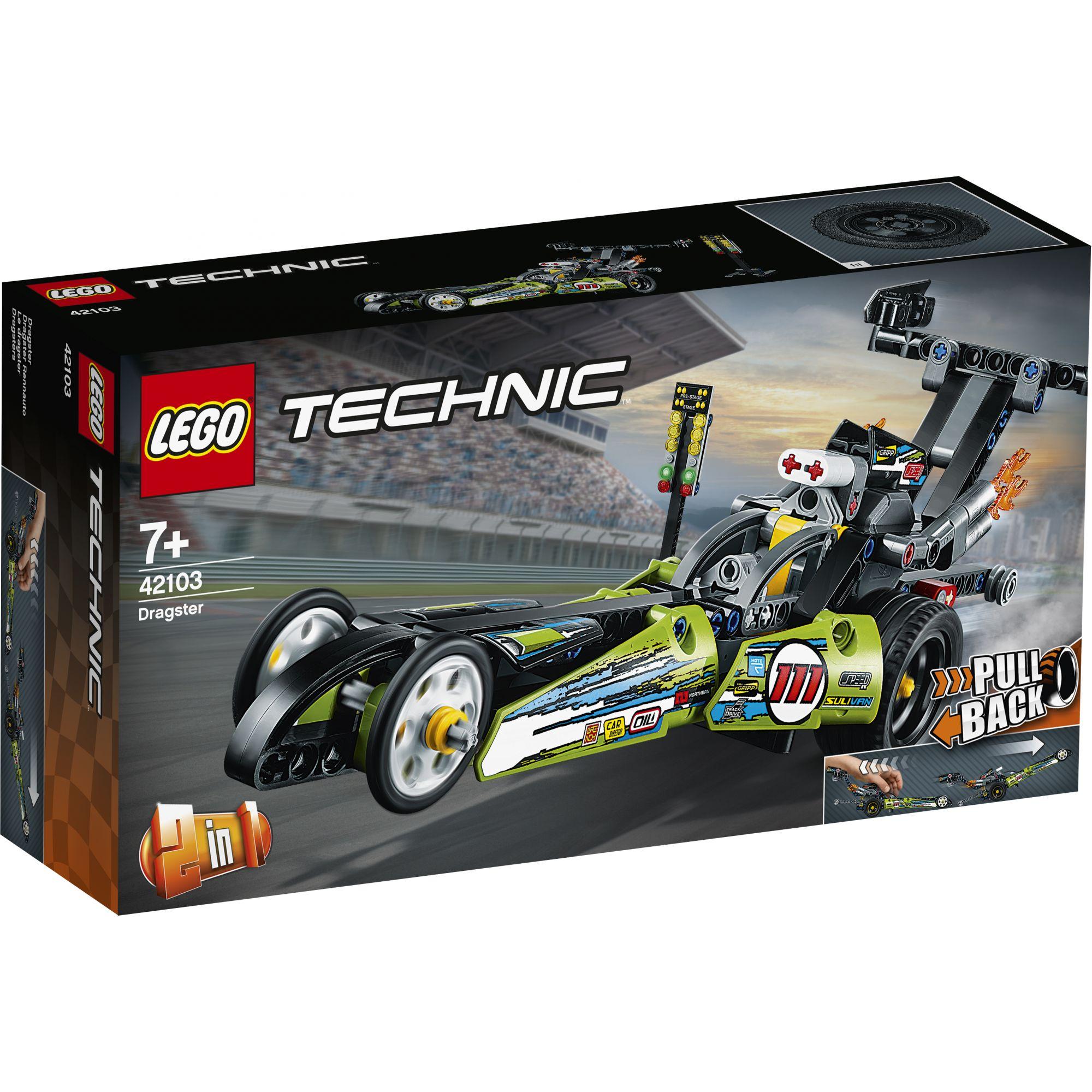 LEGO TECHNIC -  Dragster - 42103 LEGO TECHNIC