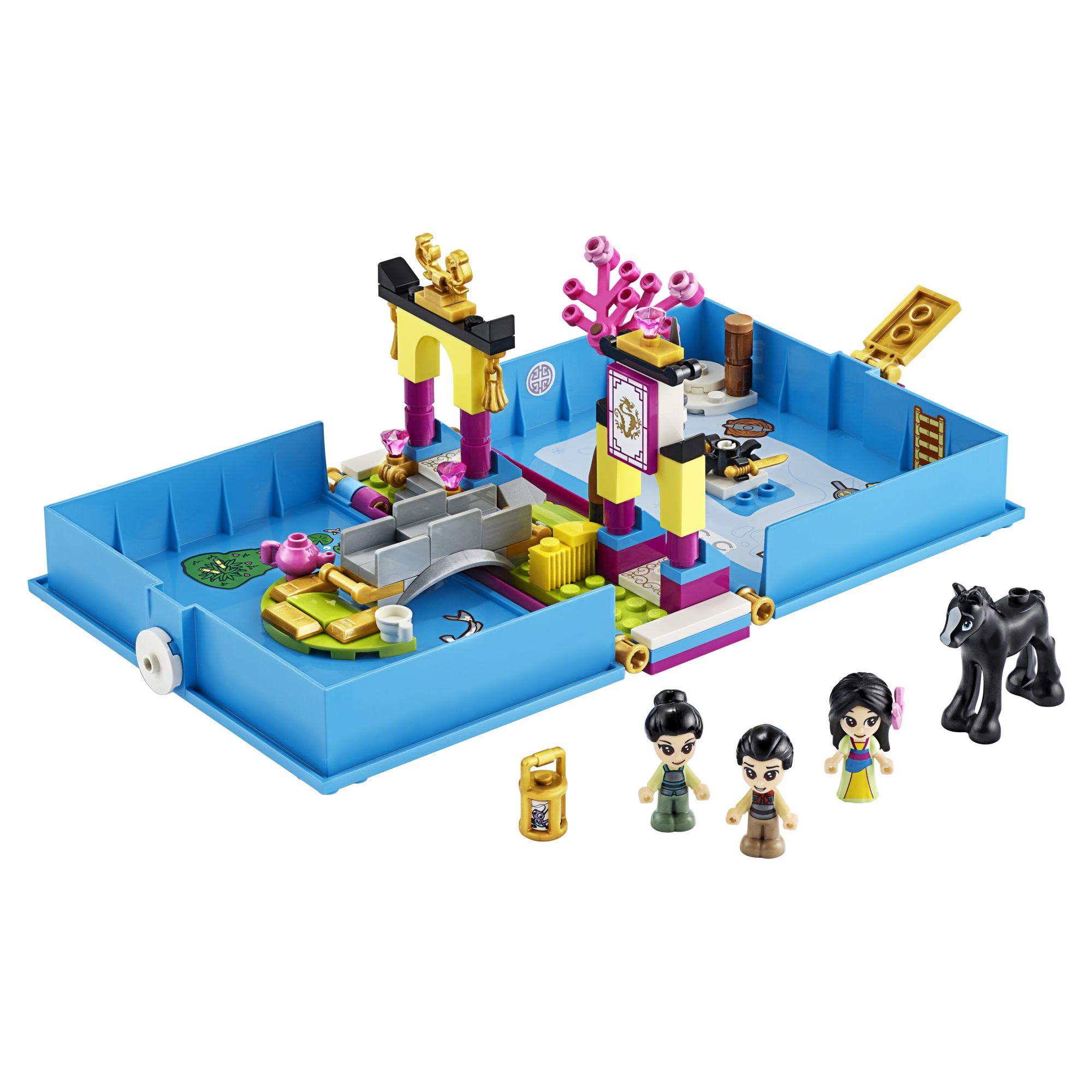 LEGO Disney Princess Il libro delle fiabe di Mulan - 43174