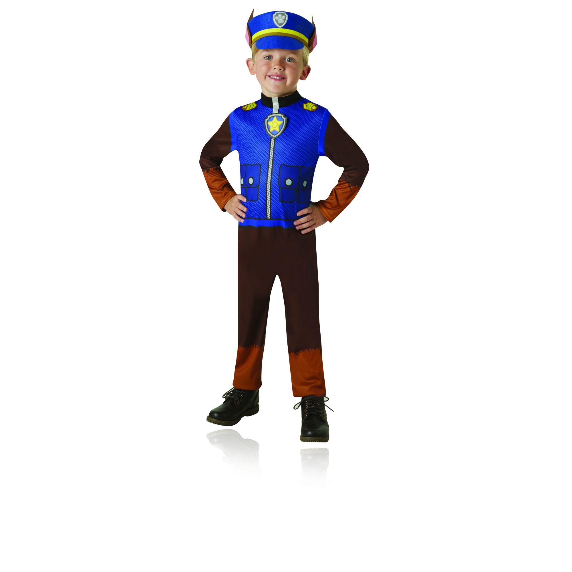 Costume Paw Patrol Chase bambino 3/4 anni