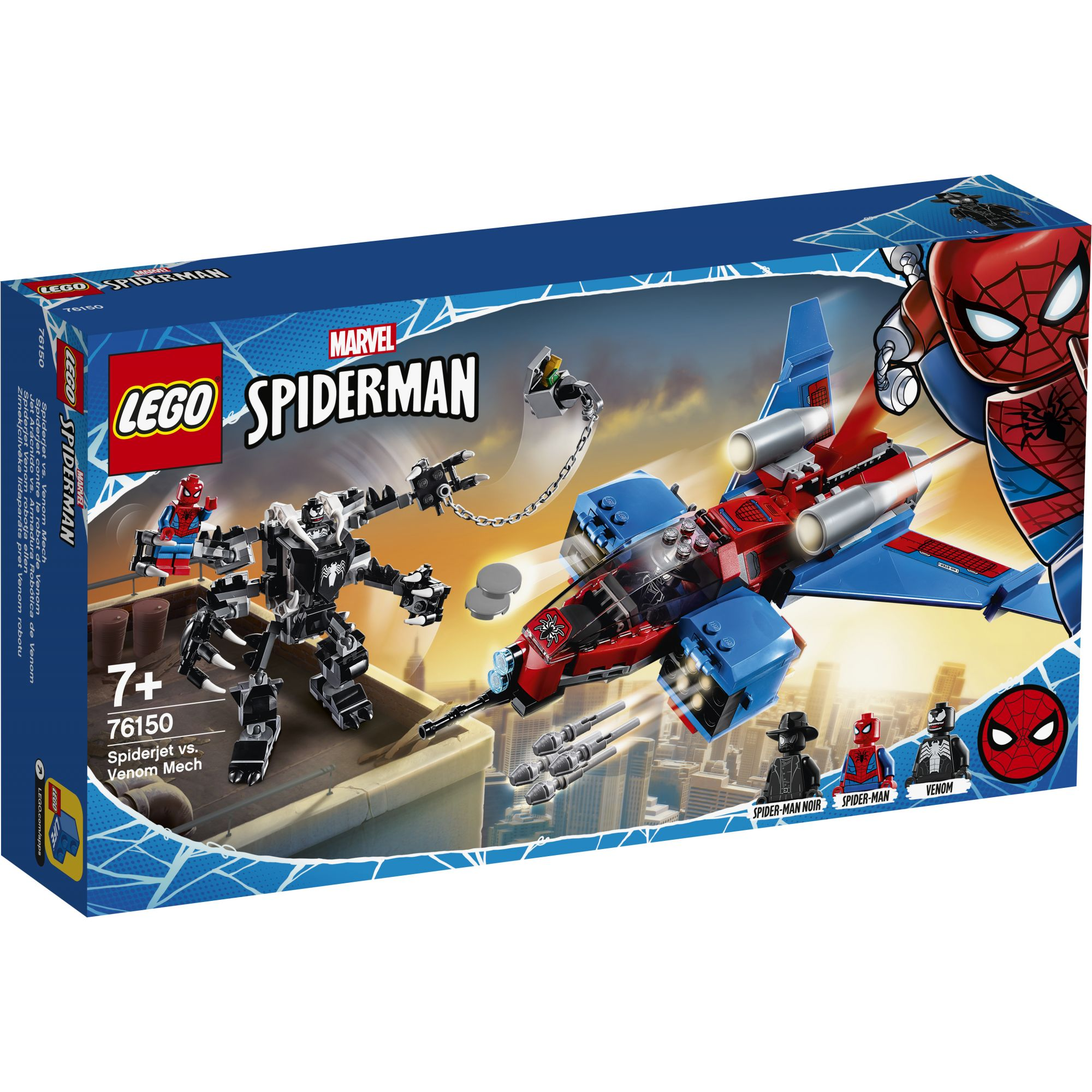 LEGO Marvel Super Heroes Spiderjet vs. Mech Venom - 76150