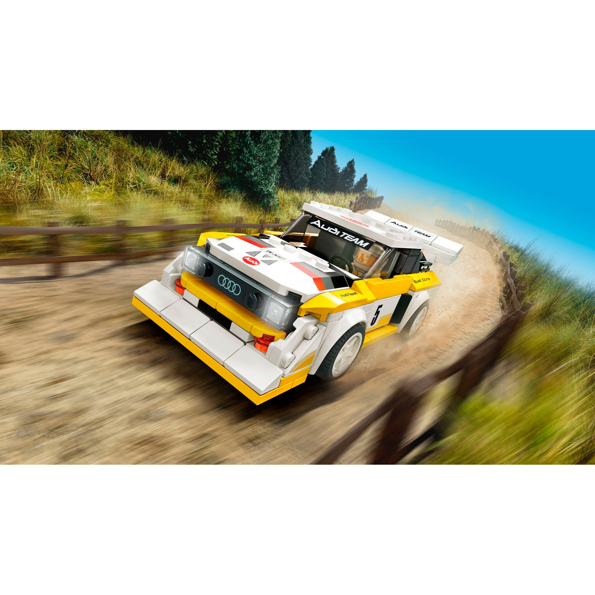 LEGO Speed Champions 1985 Audi Sport quattro S1 - 76897