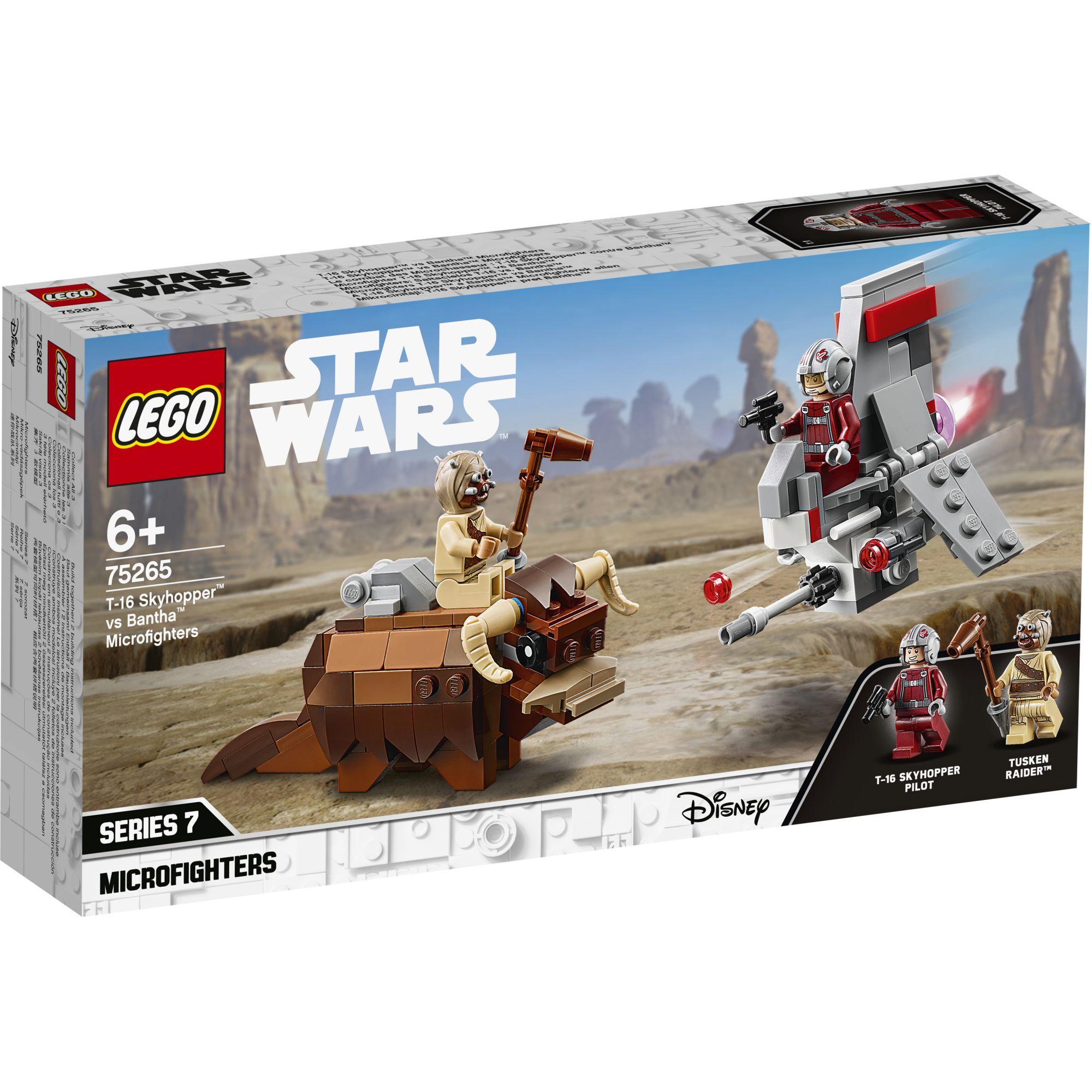 LEGO Star Wars Microfighter T-16 Skyhopper vs Bantha - 75265