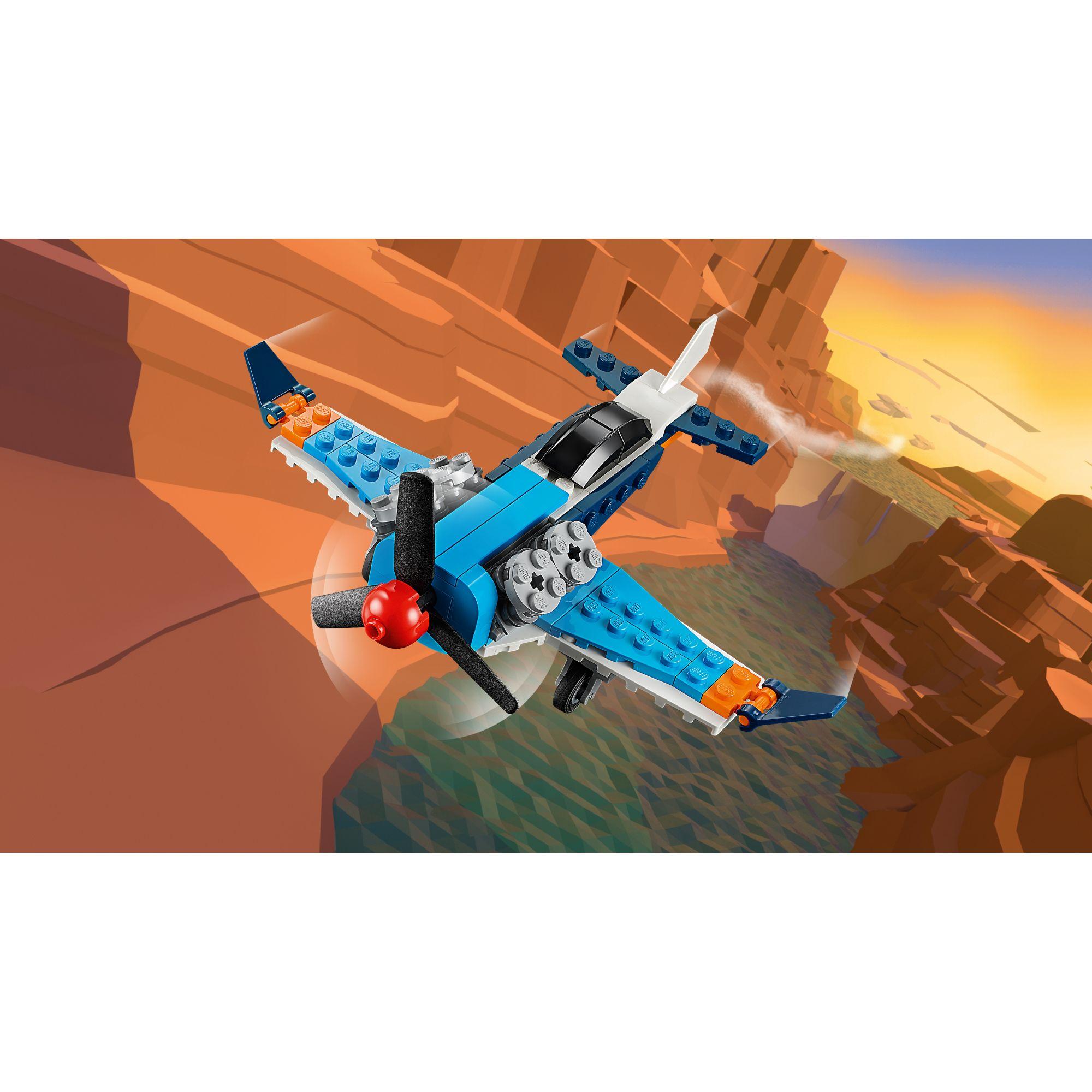 LEGO CREATOR   LEGO Creator Aereo a elica - 31099