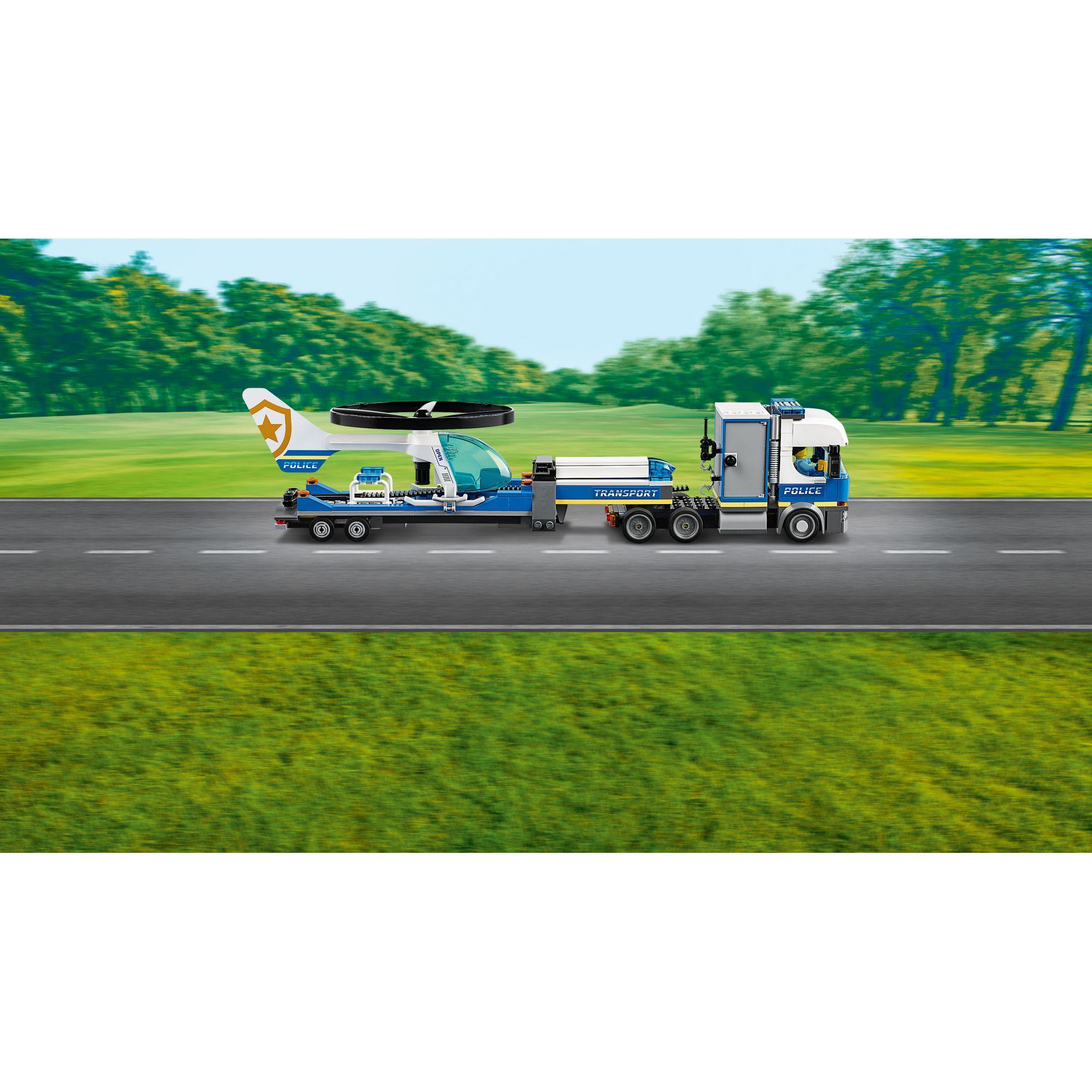 LEGO City Trasportatore di elicotteri della polizia - 60244    LEGO CITY