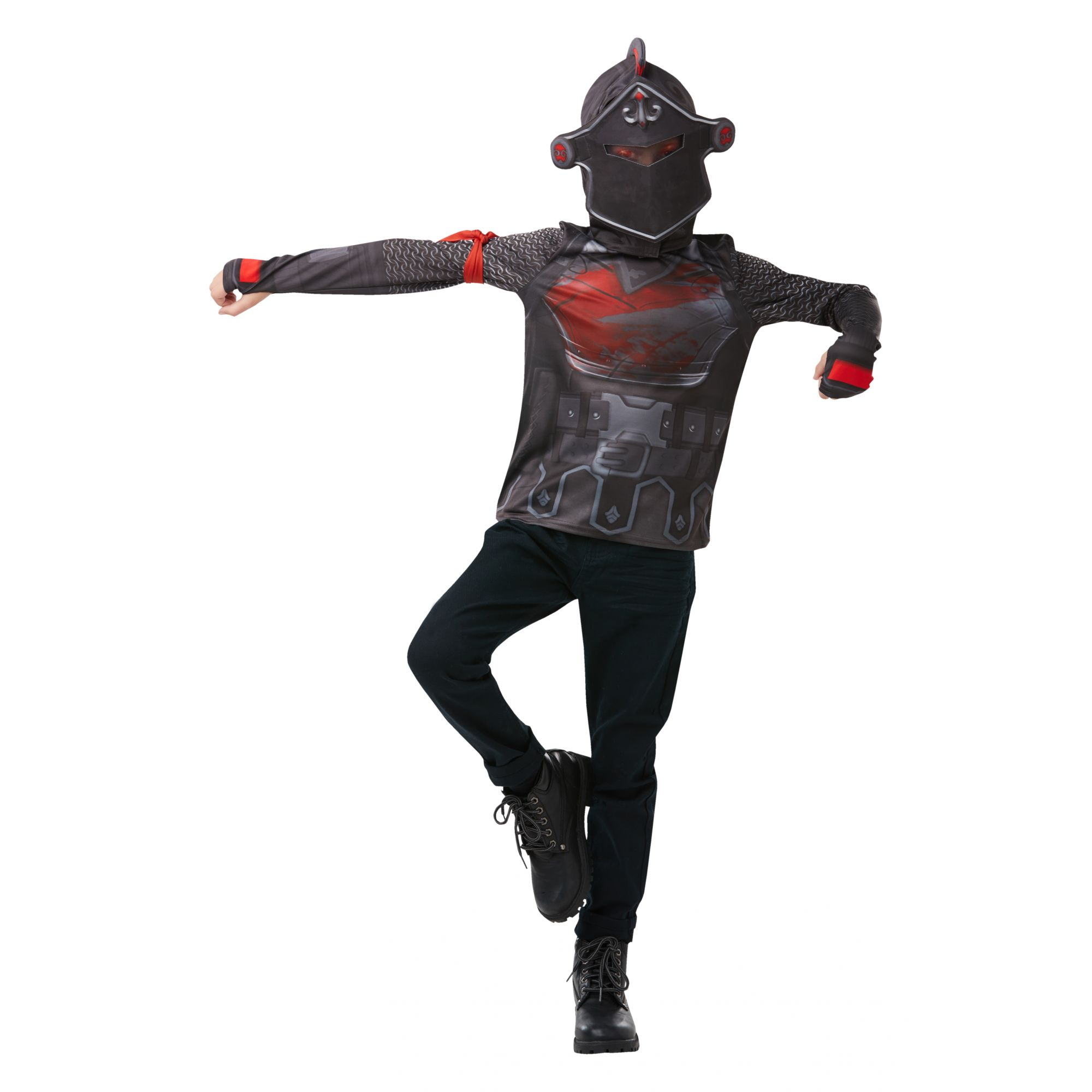 Costume Fortnite Black Knight ragazzo 9/10 anni