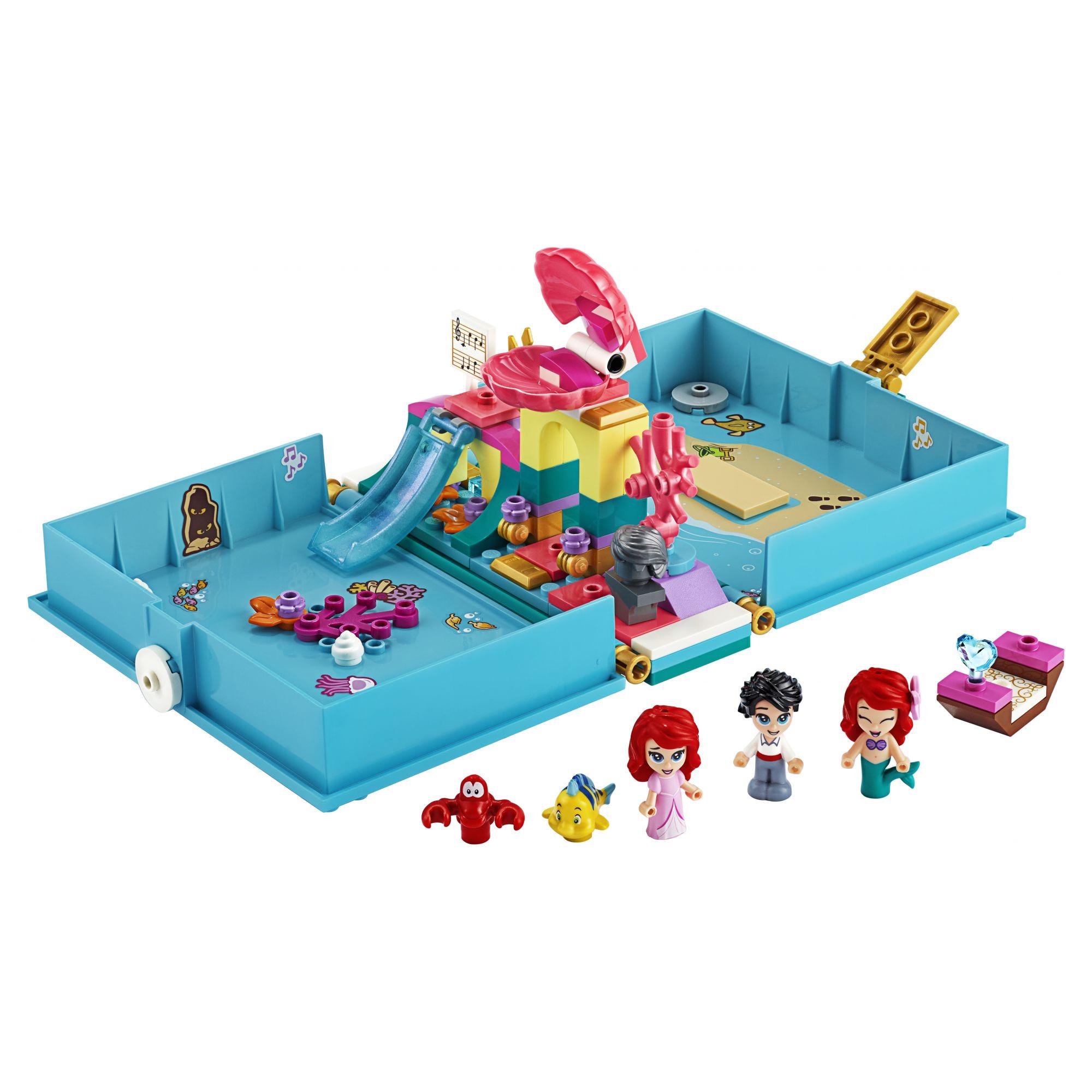 LEGO Disney Princess Il libro delle fiabe di Ariel - 43176