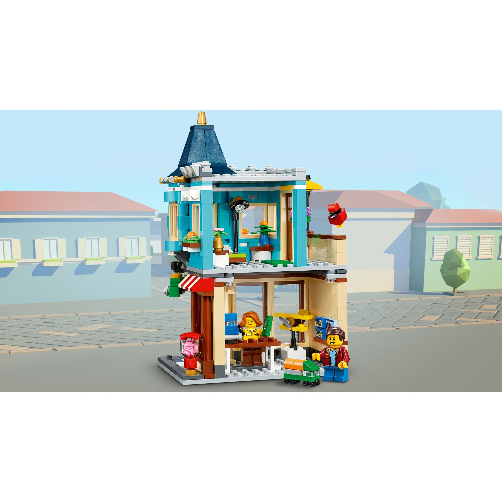 LEGO CREATOR  LEGO Creator Negozio di giocattoli - 31105
