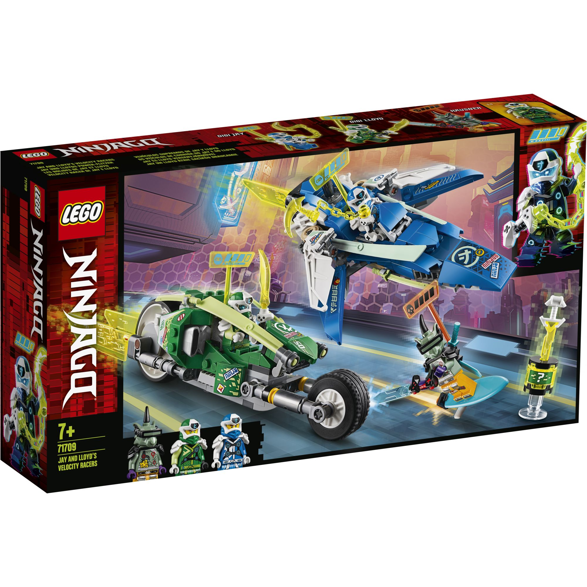 LEGO NINJAGO I bolidi di velocità di Jay e Lloyd - 71709 LEGO NINJAGO