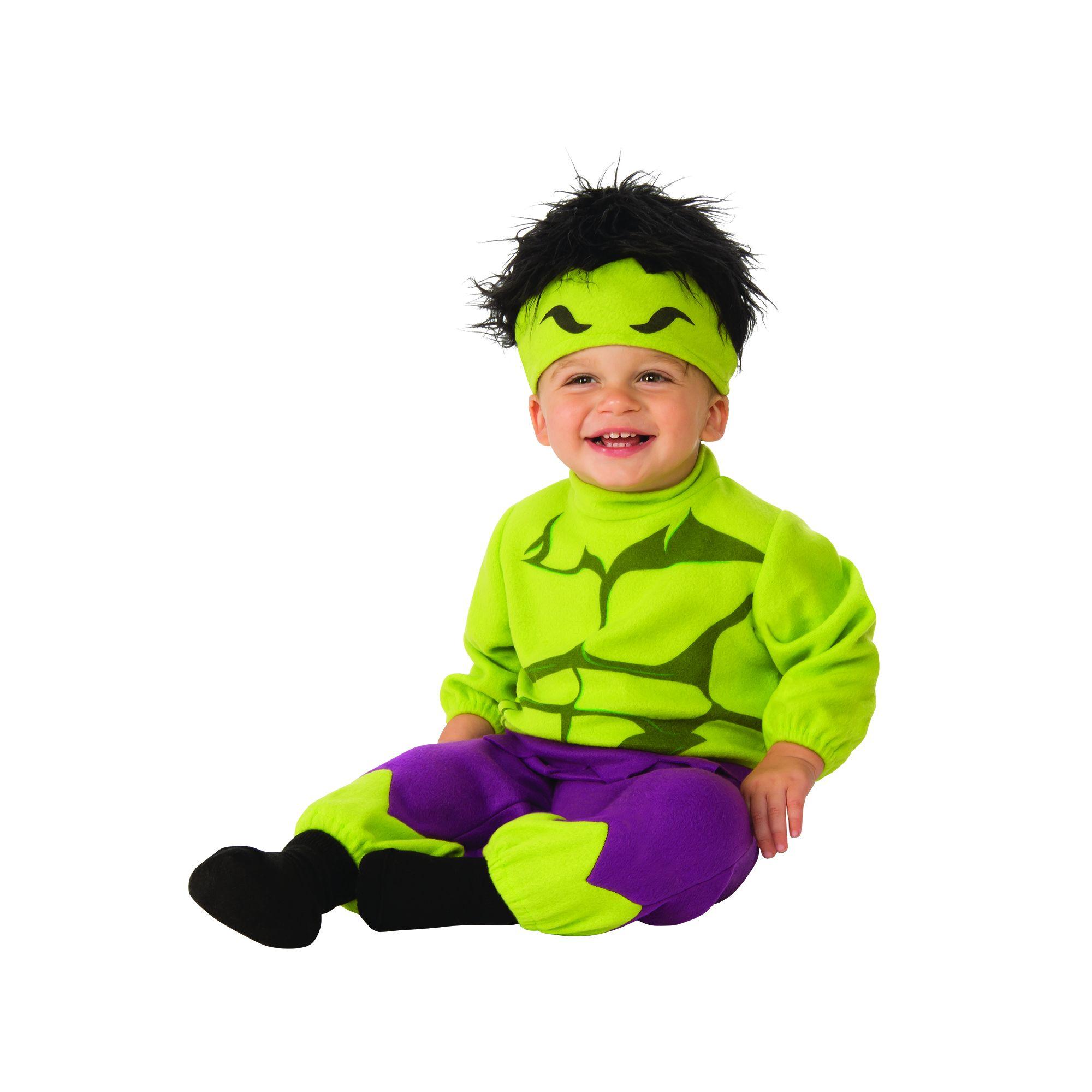 Costume Avengers Hulk bambino 6-12 mesi