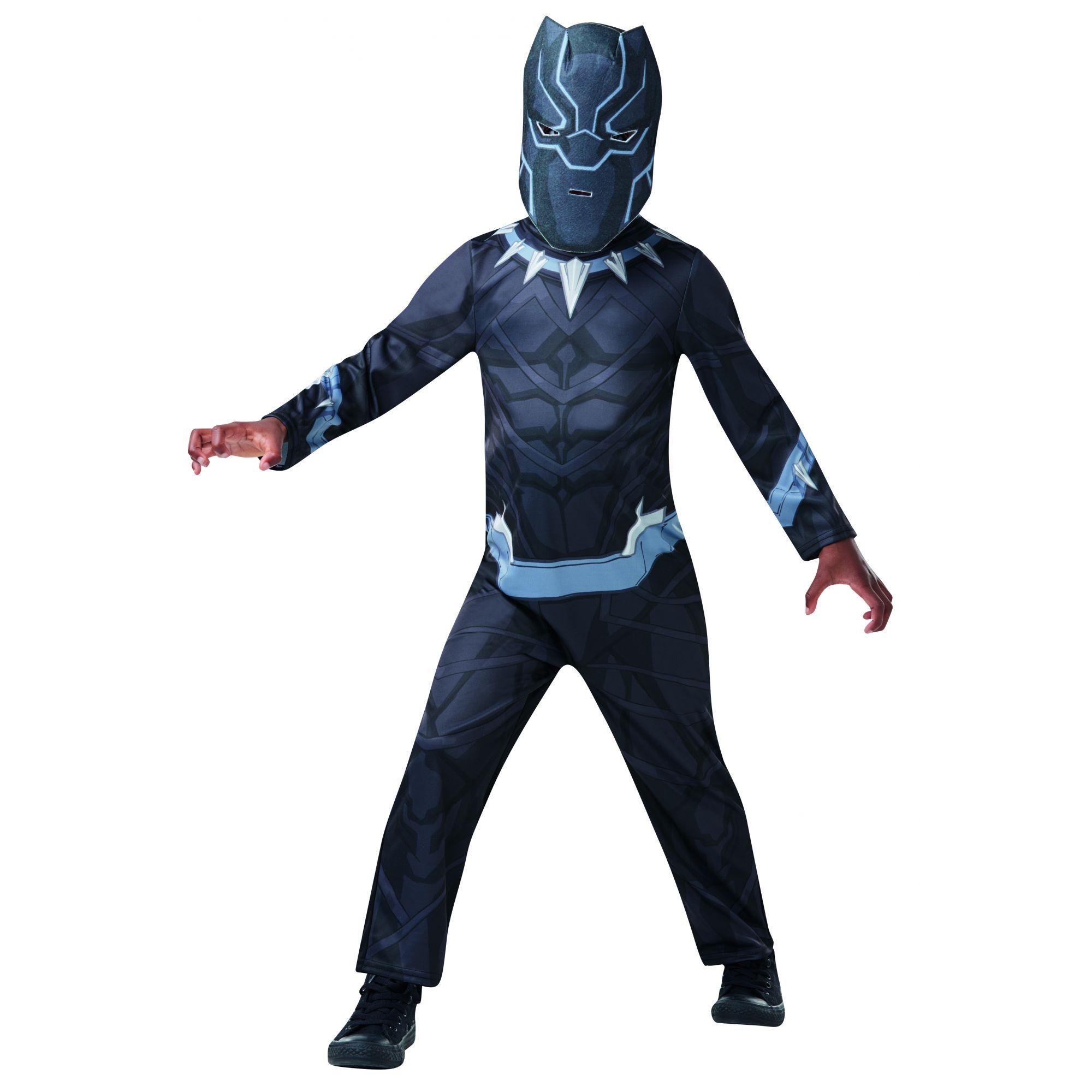 Costume Avengers Black Panther bambino 3/4 anni
