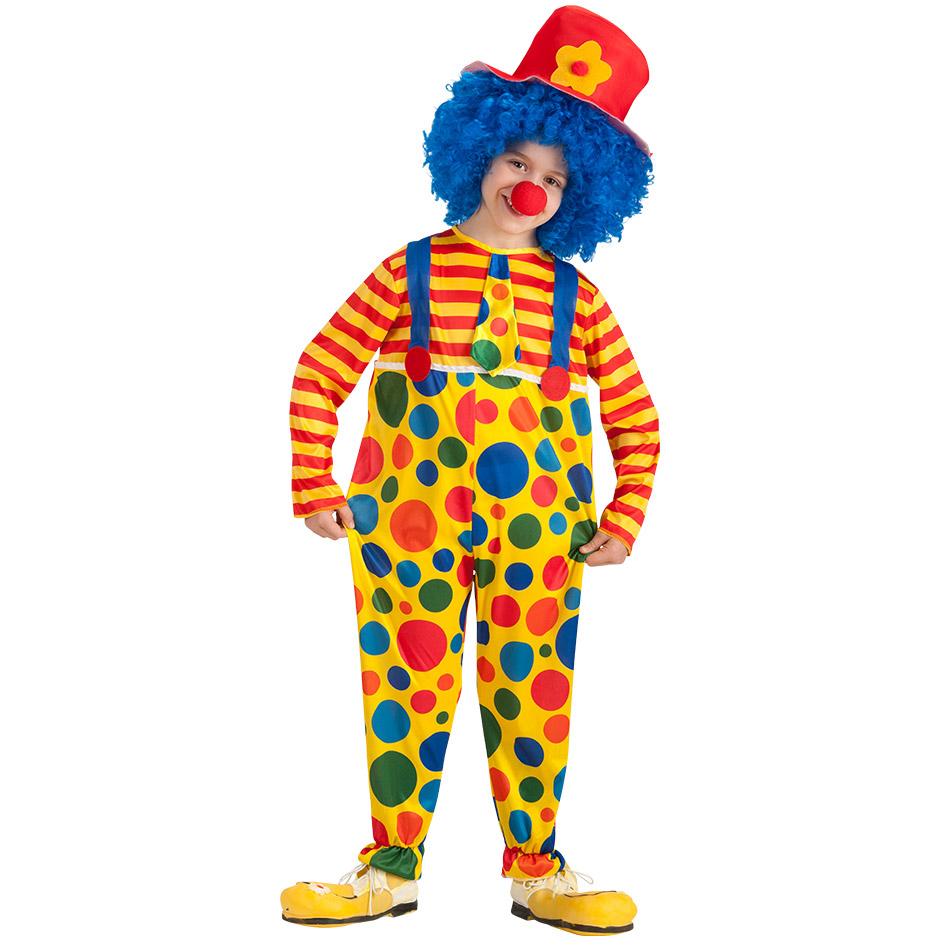 Carnival Toys Costume Clown 8-9 anni