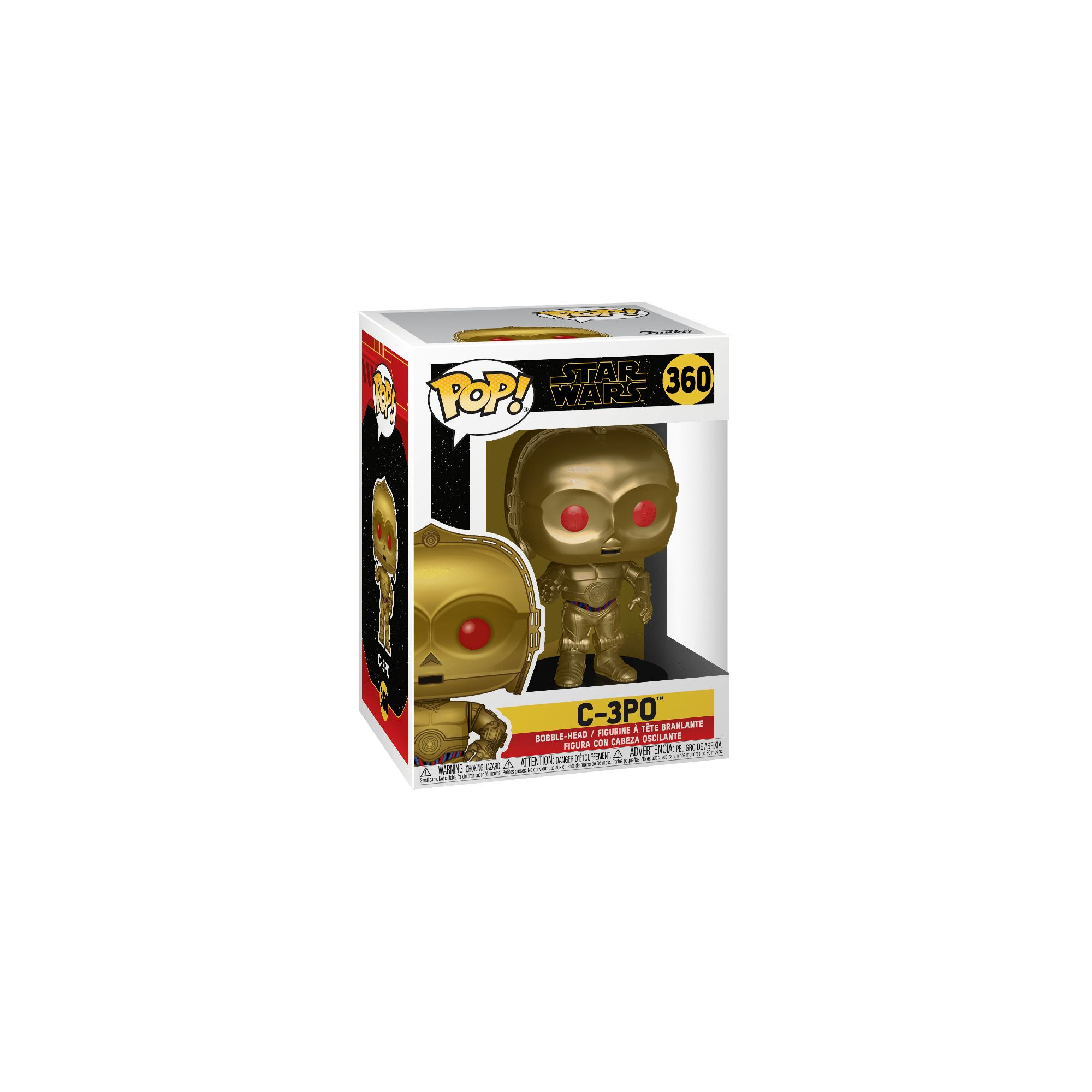 FUNKO POP Star Wars: Rise of Skywalker-C-3PO (Red Eyes) (MT)