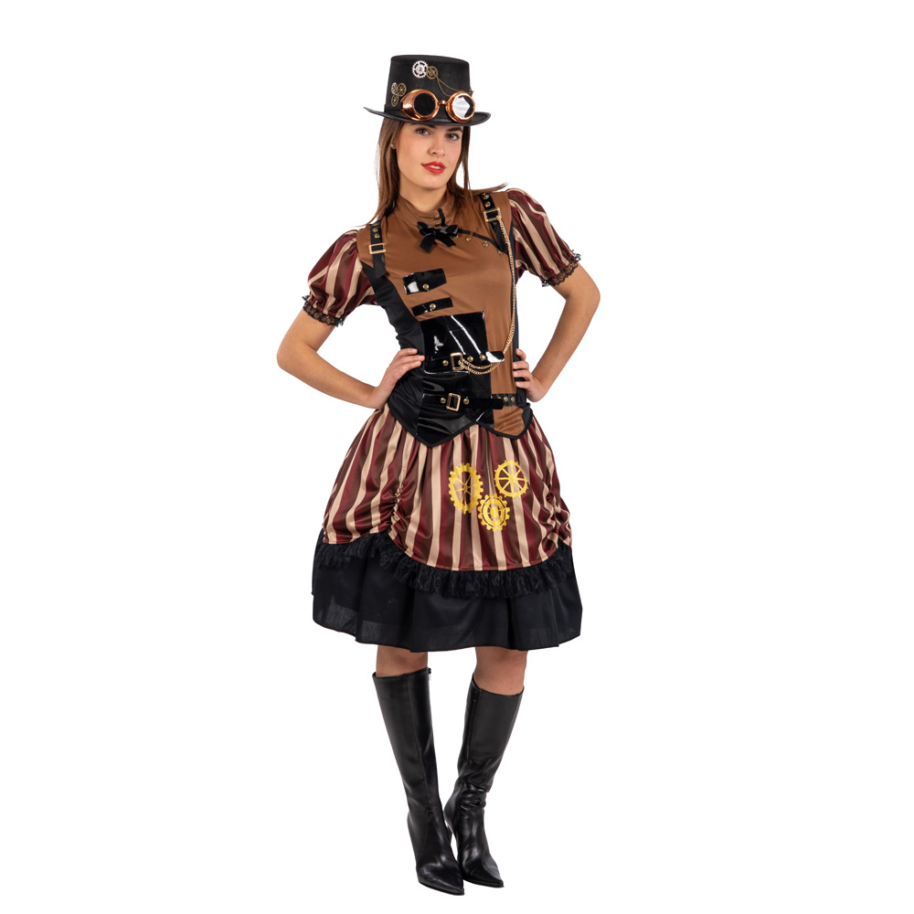 Carnival Toys Costume Steampunk Lady
