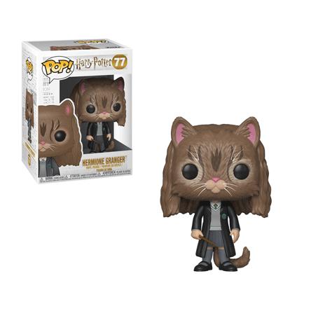 FUNKO Pop! Vinyl: Harry Potter - Hermione Granger (as Cat) Personaggio da collezione Adulti e bambini