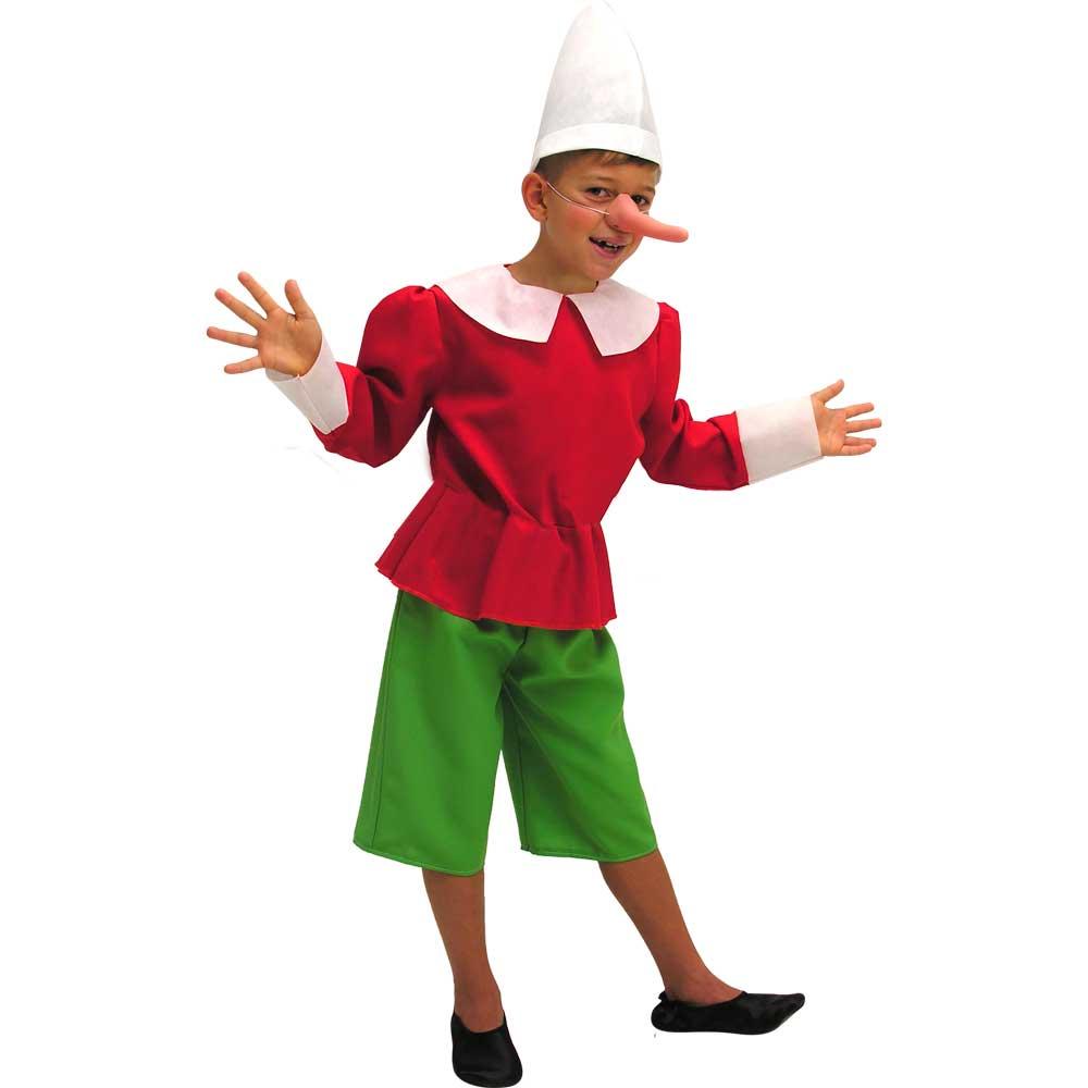 Carnival Toys Costume Pinocchio 4-5 anni