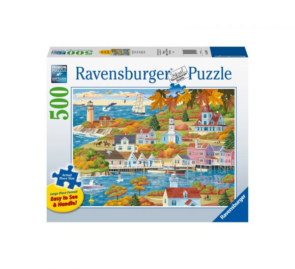 Ravensburger Puzzle 500 Pezzi - Terra e mare