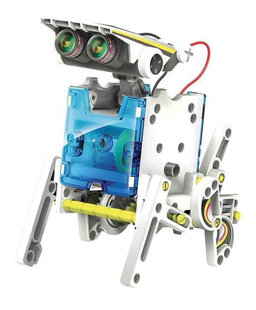 LISCIANI - SCIENZA HI TECH ROBOT 13 MODELLI ENERGIA SOLARE
