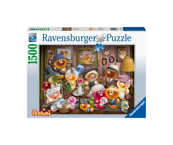 Ravensburger Puzzle 1500 Pezzi - Famiglia Gelini