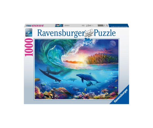 Ravensburger Puzzle 1000 Pezzi - Prendi l'onda