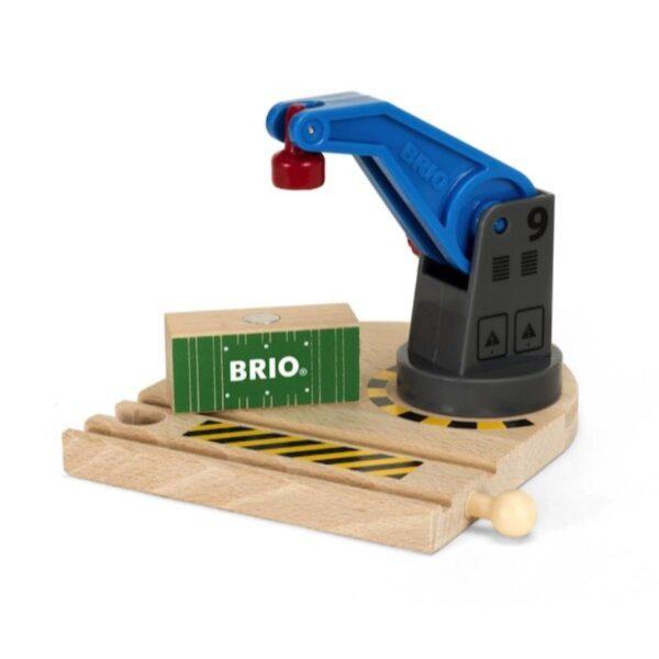BRIO Accessori - Piccola gru magnetica