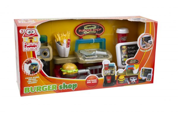BURGER SHOP FUNNY HOME
