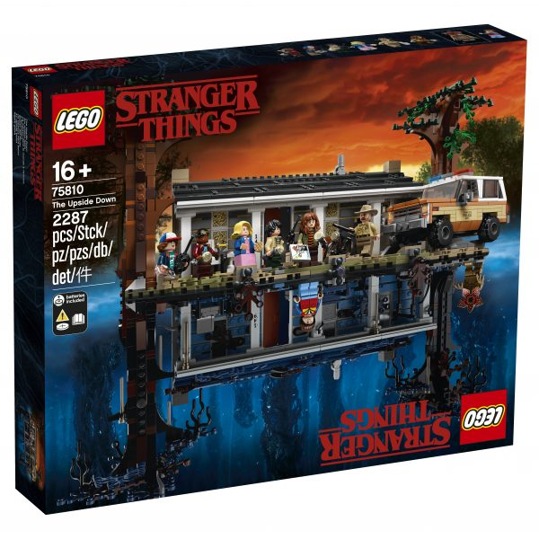 LEGO Stranger Things Il Sottosopra - 75810    LEGO® Stranger Things, Stranger Things